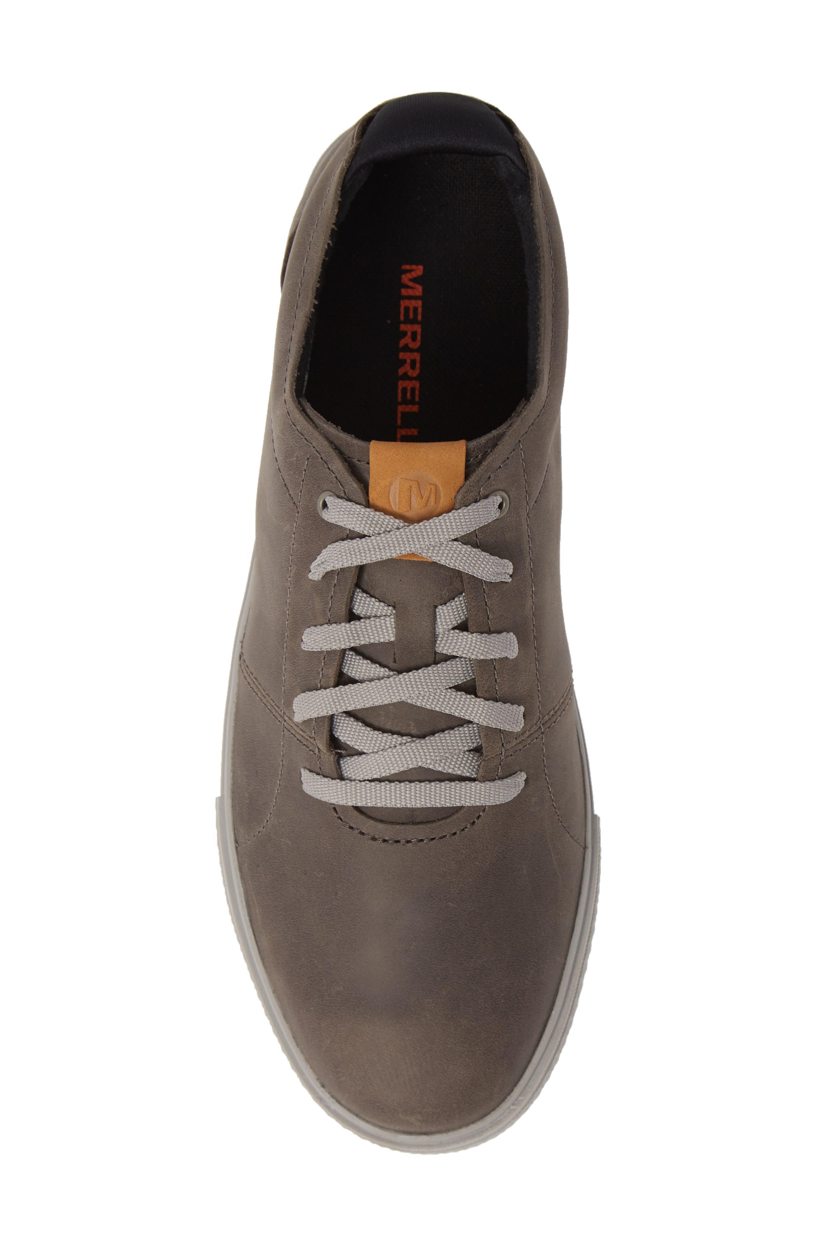 MERRELL, Barkley Sneaker, Alternate thumbnail 5, color, CASTLE ROCK