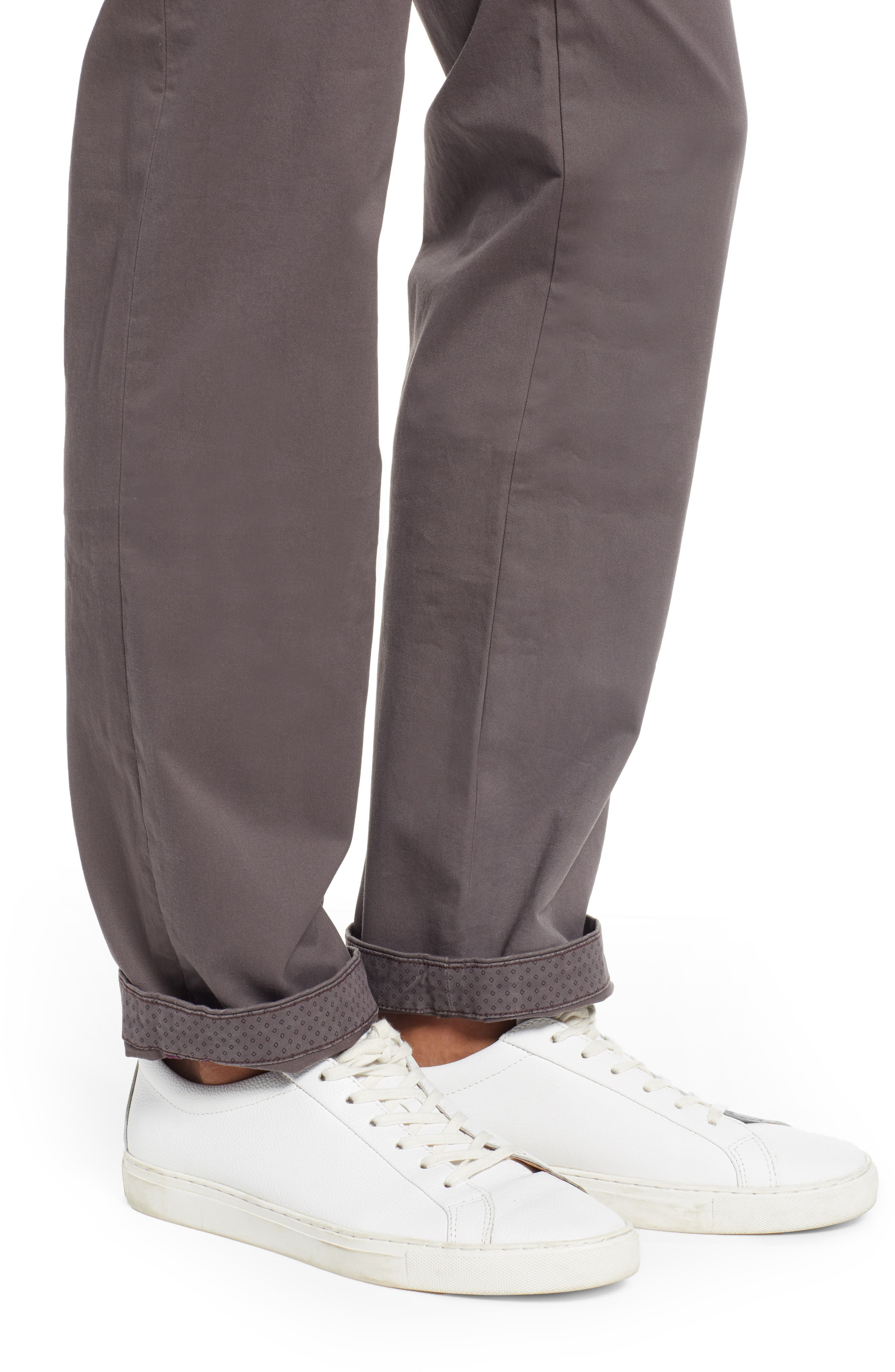 TED BAKER LONDON, Selebtt Slim Fit Stretch Cotton Chinos, Alternate thumbnail 4, color, 020