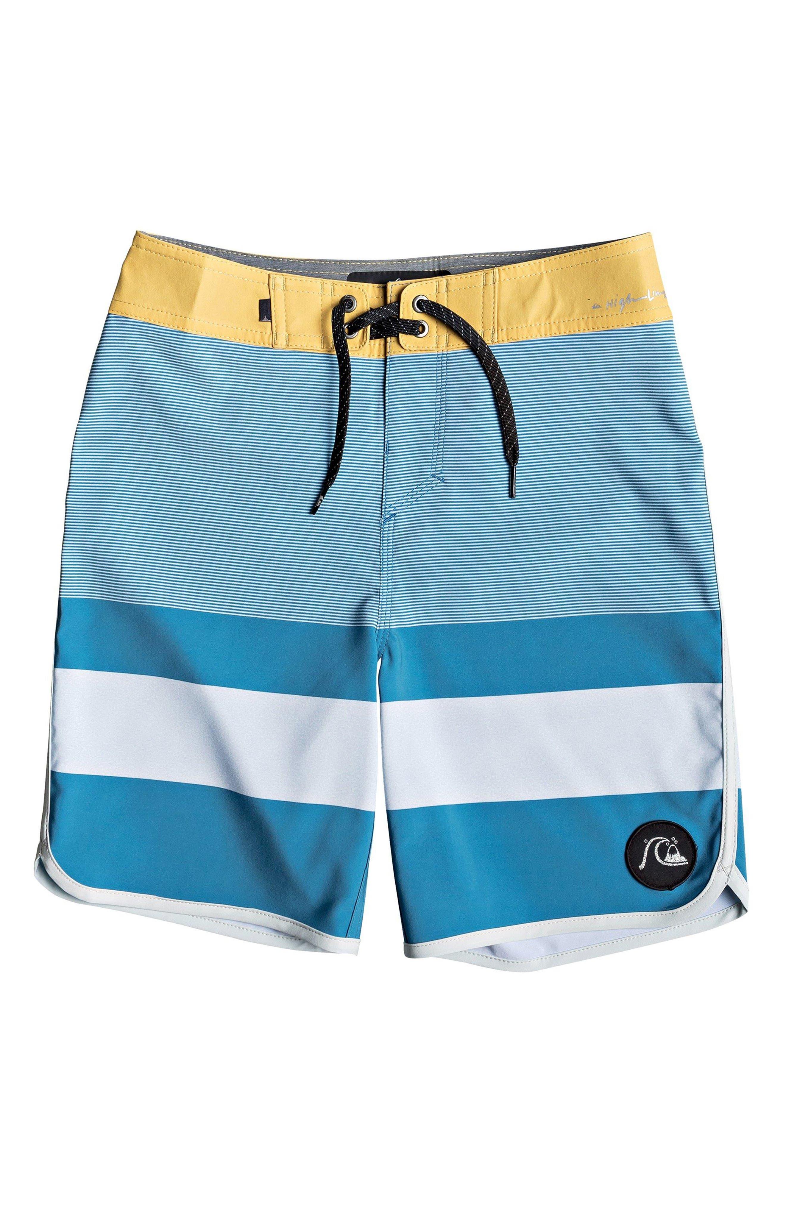 QUIKSILVER Highline Tijuana Board Shorts, Main, color, SOUTHERN OCEAN