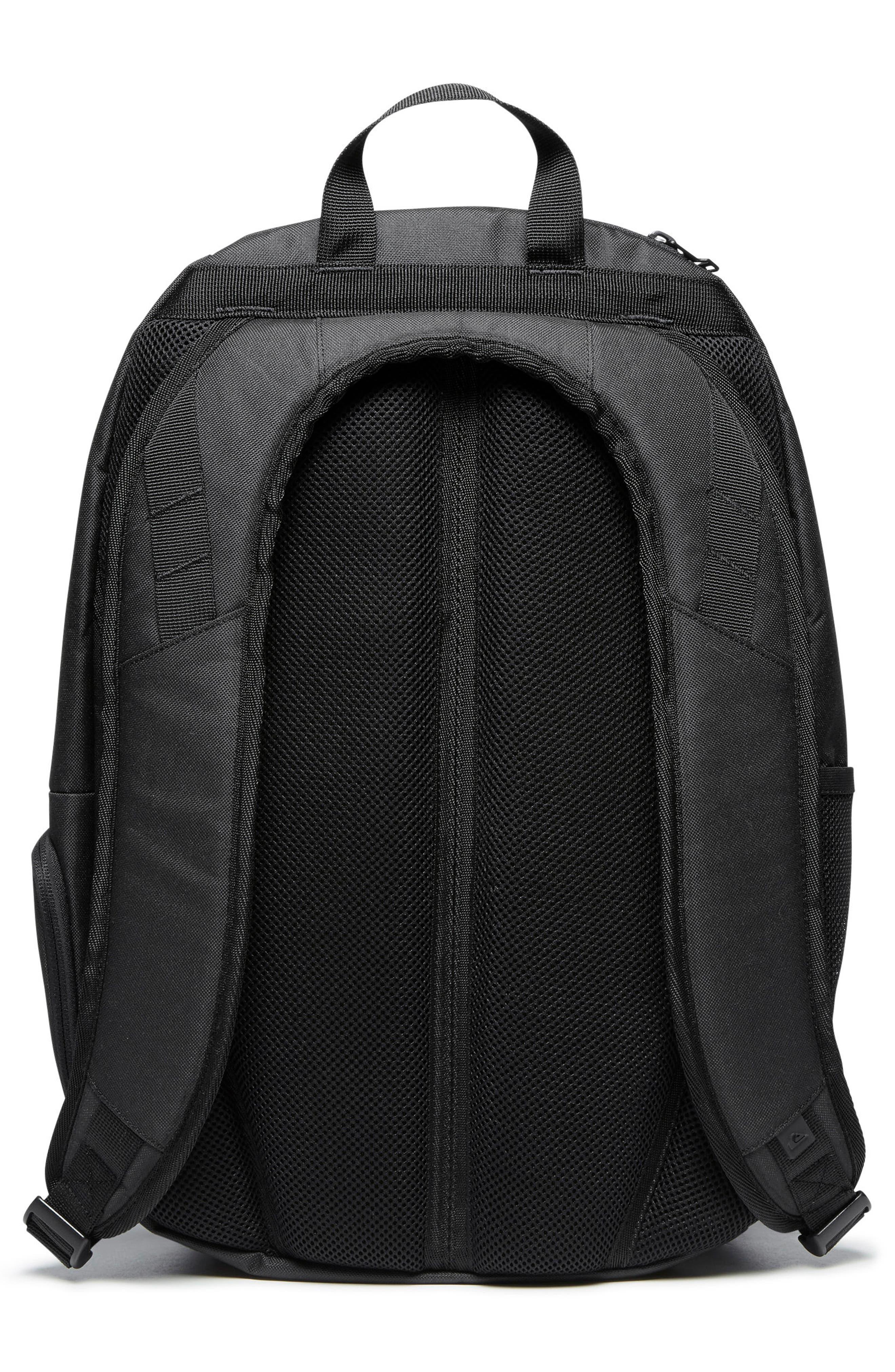 QUIKSILVER, Diaper Backpack, Alternate thumbnail 3, color, BLACK