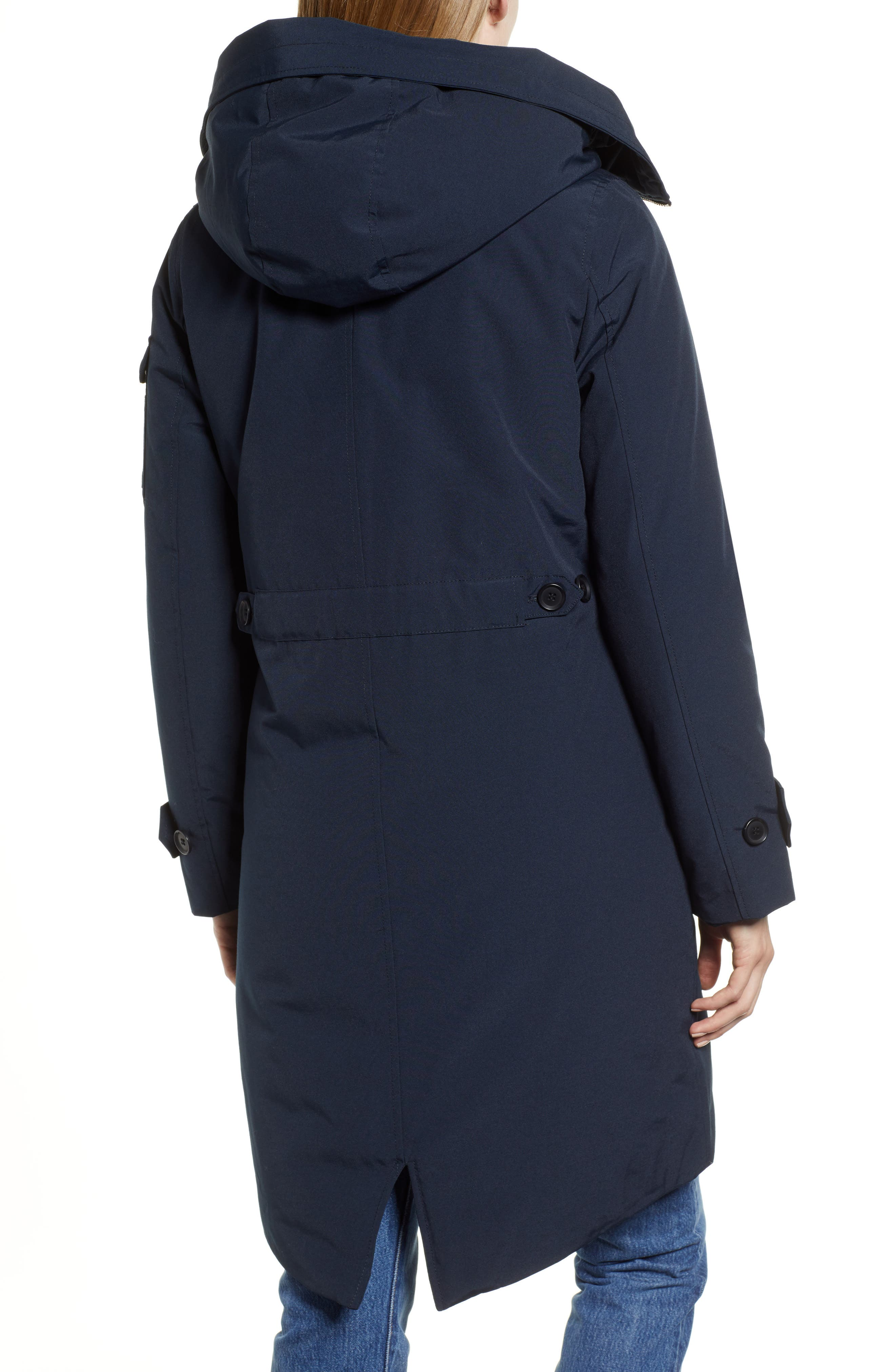 HALOGEN<SUP>®</SUP>, Heavyweight Parka, Alternate thumbnail 2, color, NAVY