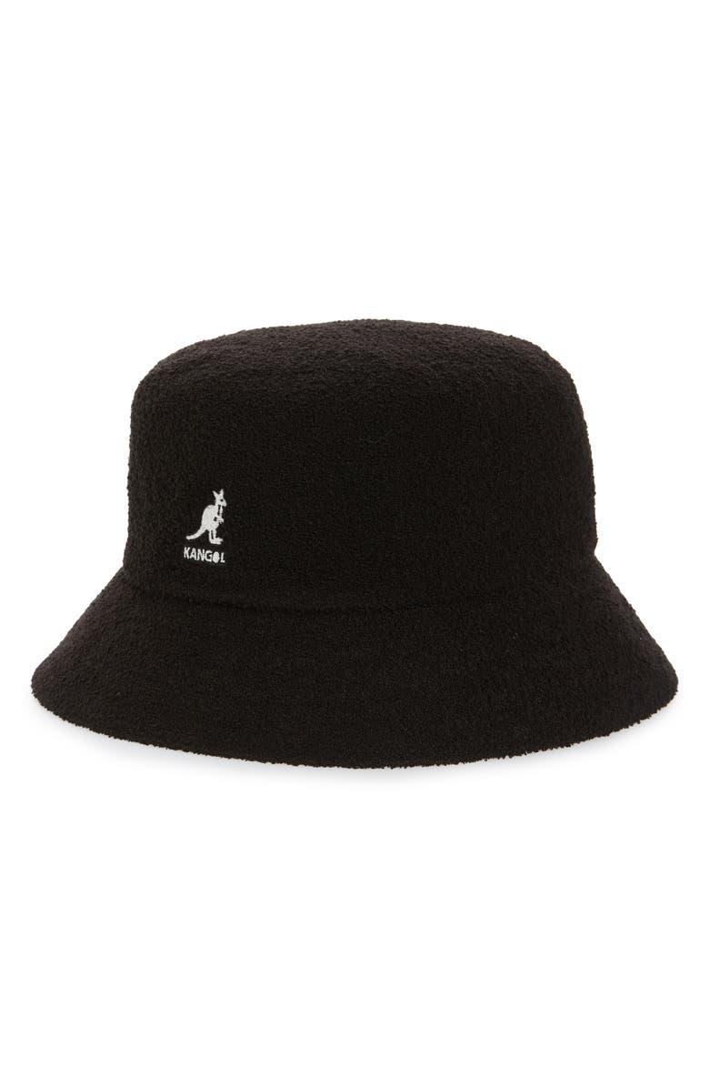Kangol Hats BERMUDA BUCKET HAT - BLACK