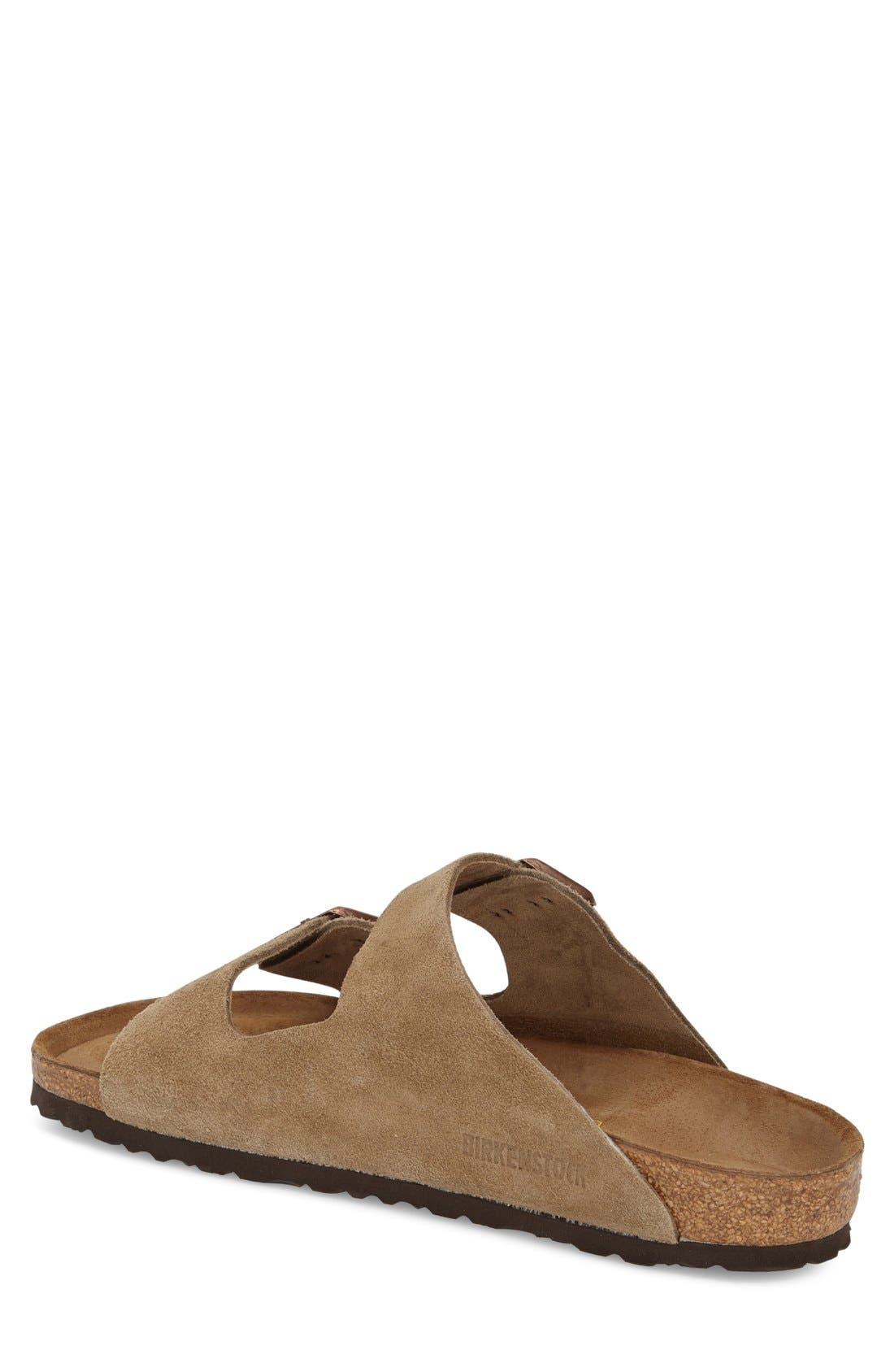 BIRKENSTOCK, 'Arizona' Sandal, Alternate thumbnail 8, color, TAUPE