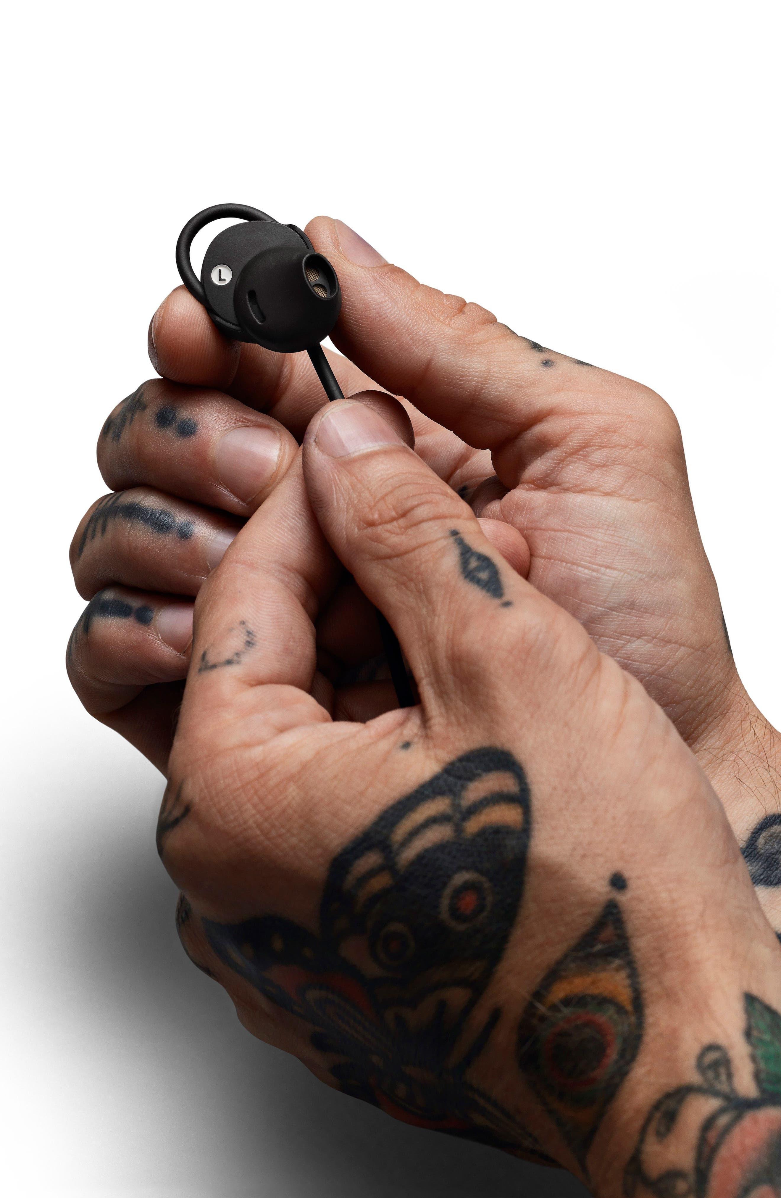 MARSHALL, Minor II Bluetooth In-Ear Headphones, Alternate thumbnail 5, color, BLACK