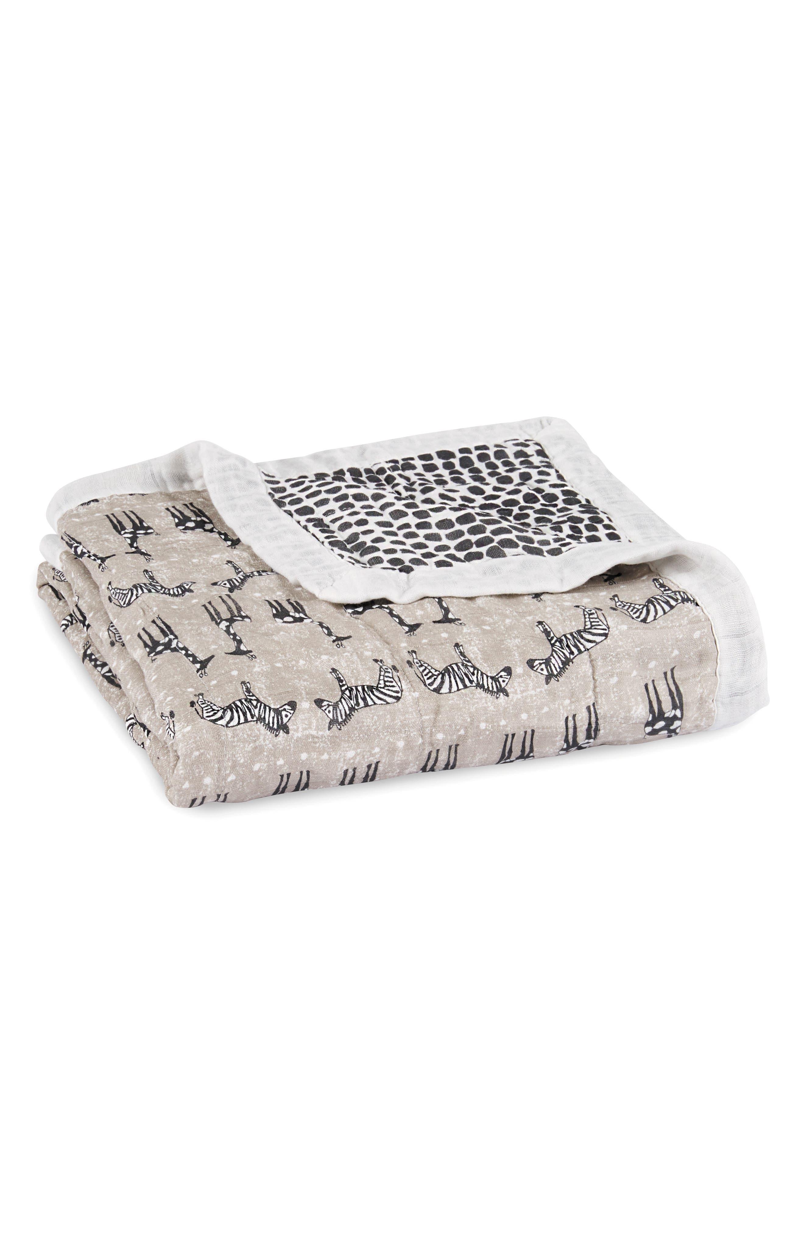ADEN + ANAIS 'Silky Soft Dream' Blanket, Main, color, SAHARA MOTIF