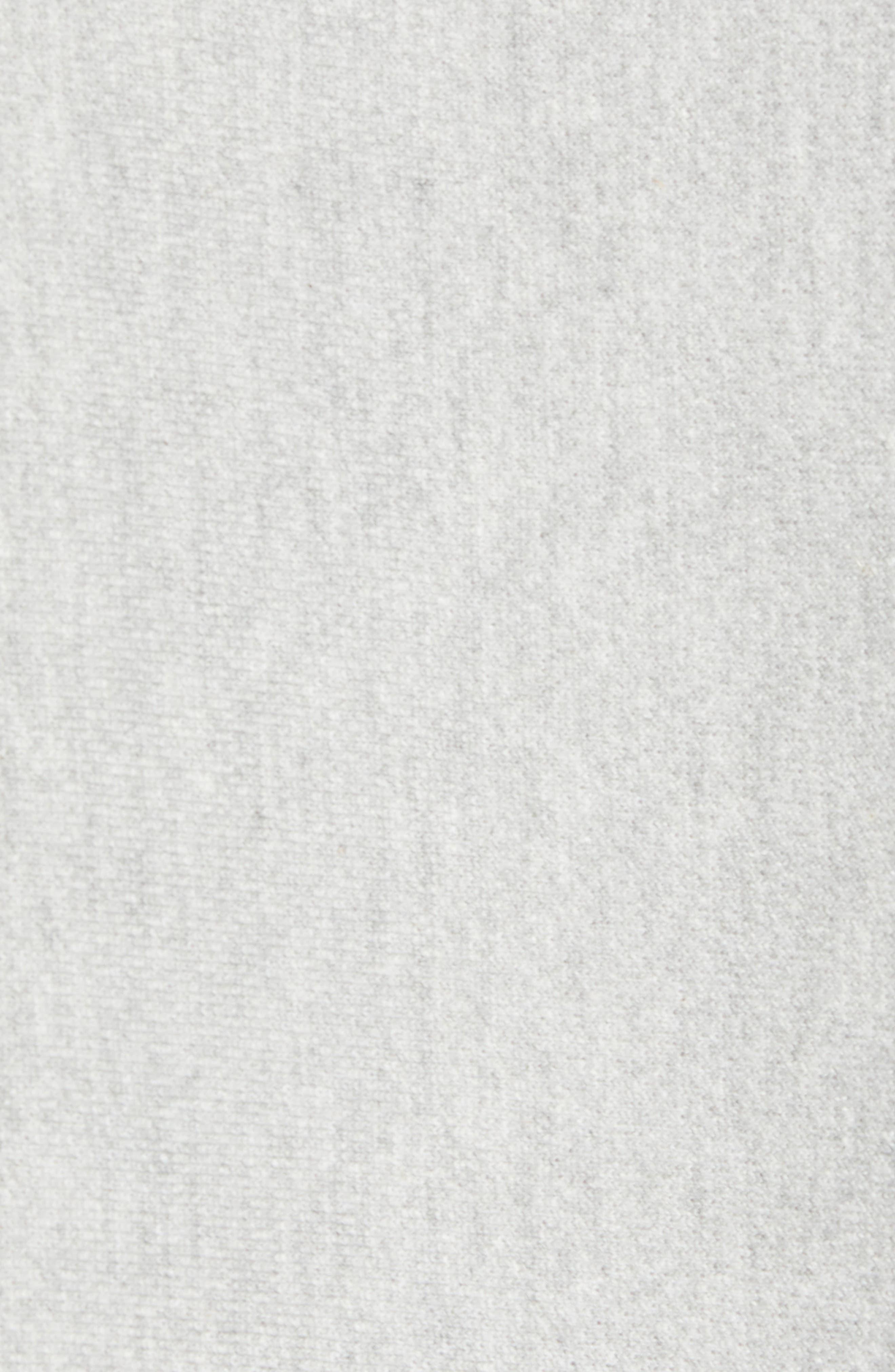CHAMPION, Reverse Weave Sweatshirt, Alternate thumbnail 5, color, OXFORD GRAY