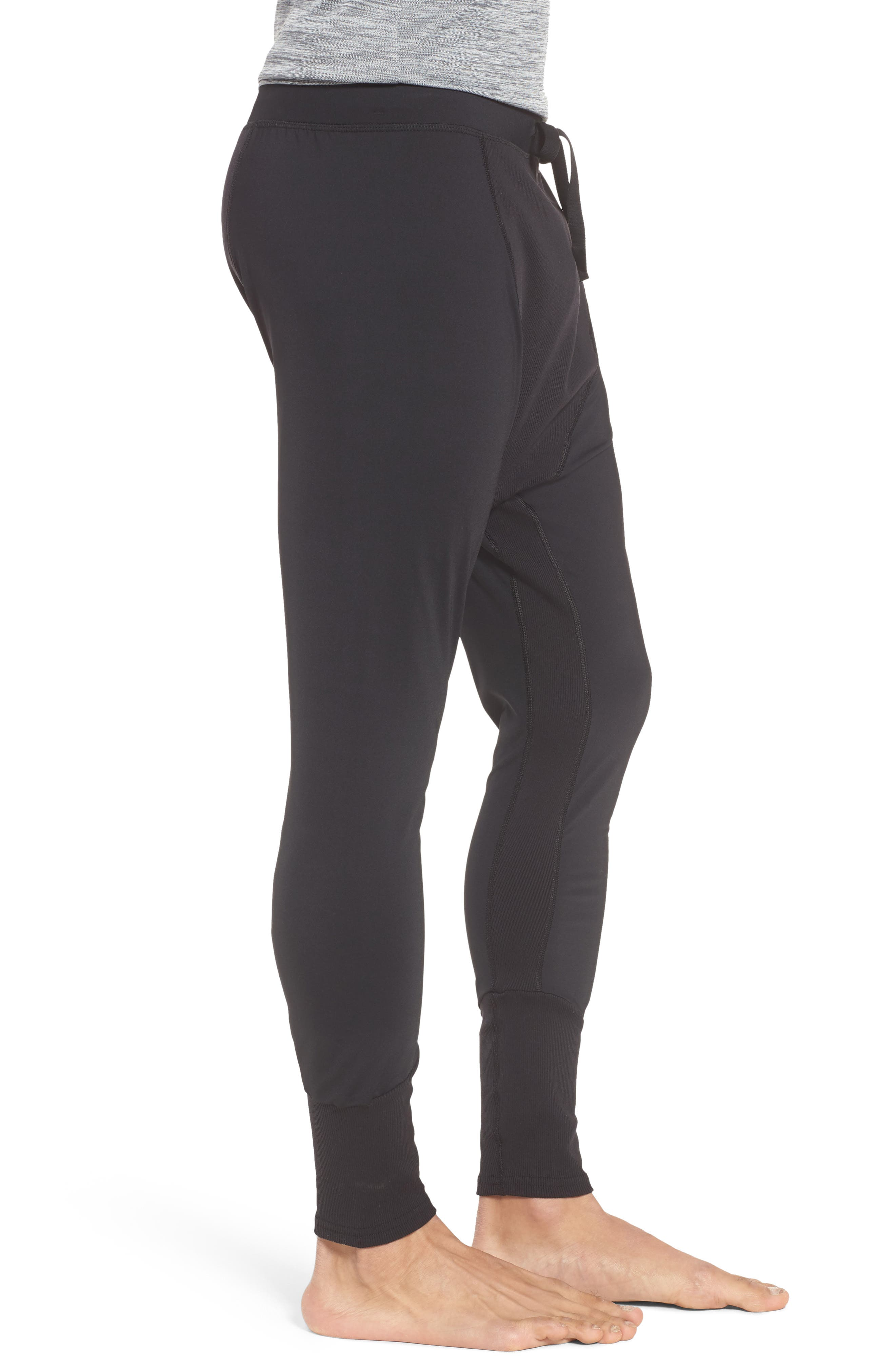 ALO, Rebel Jogger Pants, Alternate thumbnail 3, color, BLACK