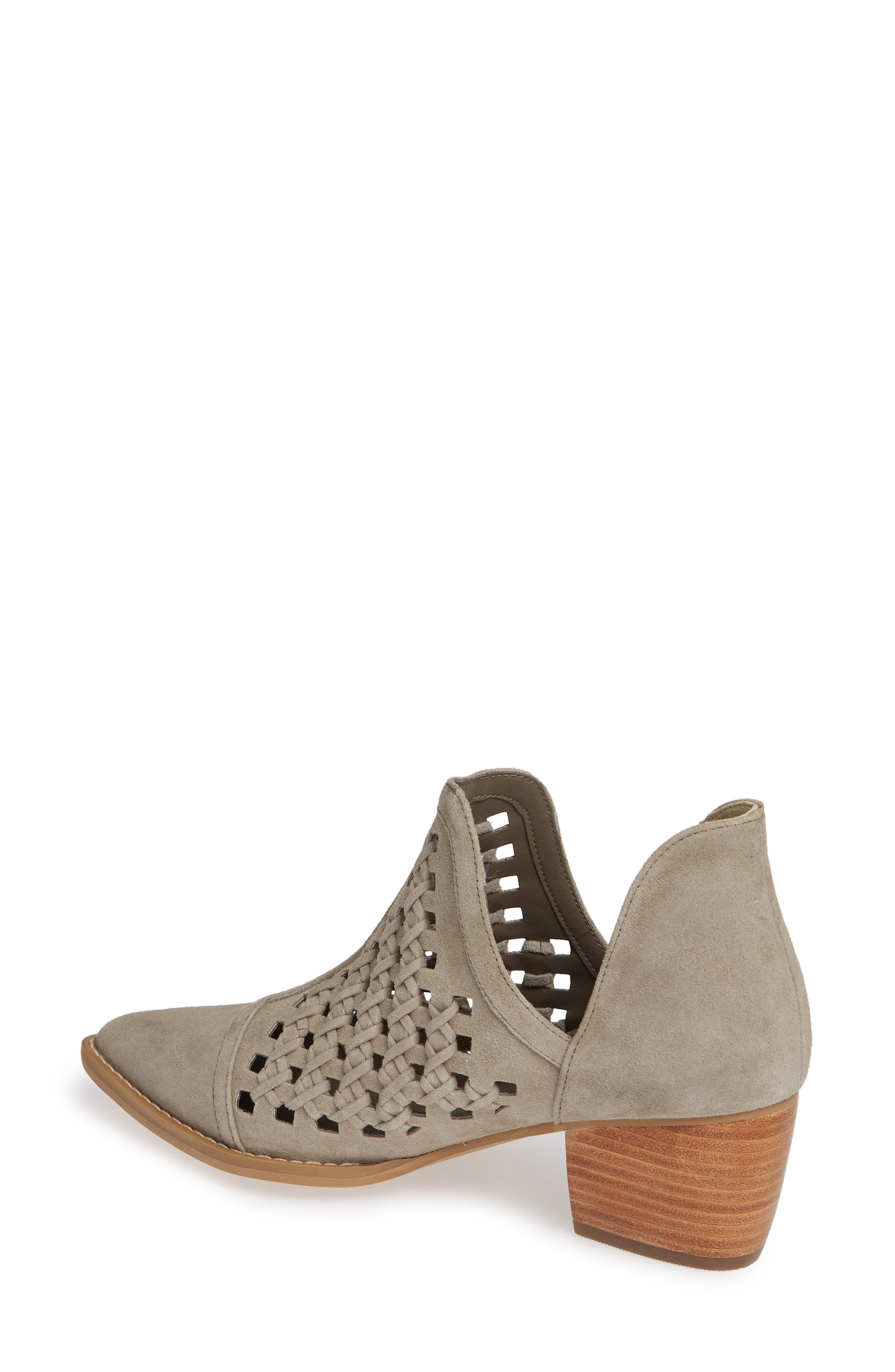 BP., Tate Bootie, Alternate thumbnail 2, color, TAUPE SUEDE