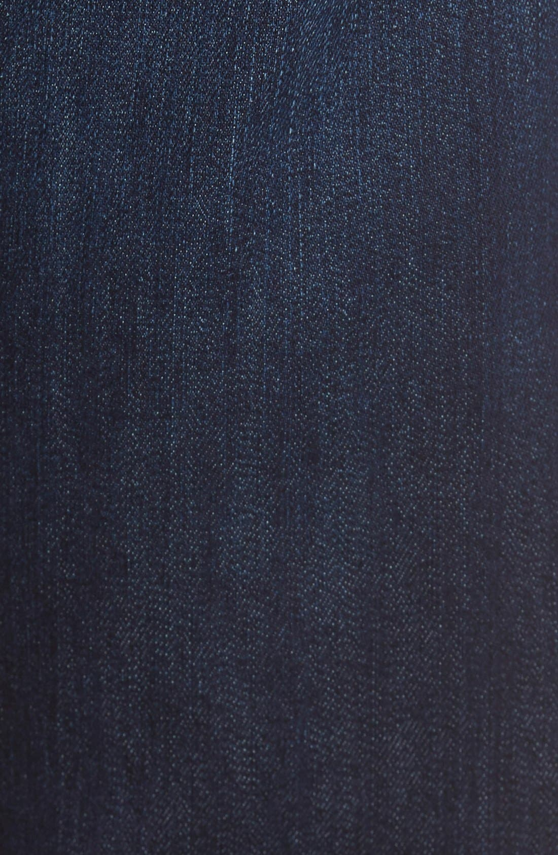 7 FOR ALL MANKIND<SUP>®</SUP>, The Straight Airweft Slim Straight Leg Jeans, Alternate thumbnail 5, color, 400