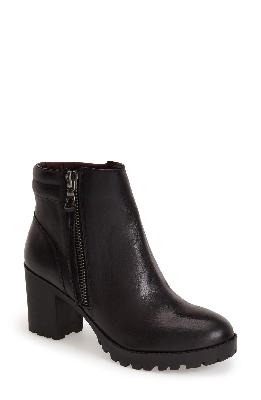 STEVE MADDEN, 'Norwayy' Bootie, Main thumbnail 1, color, 001