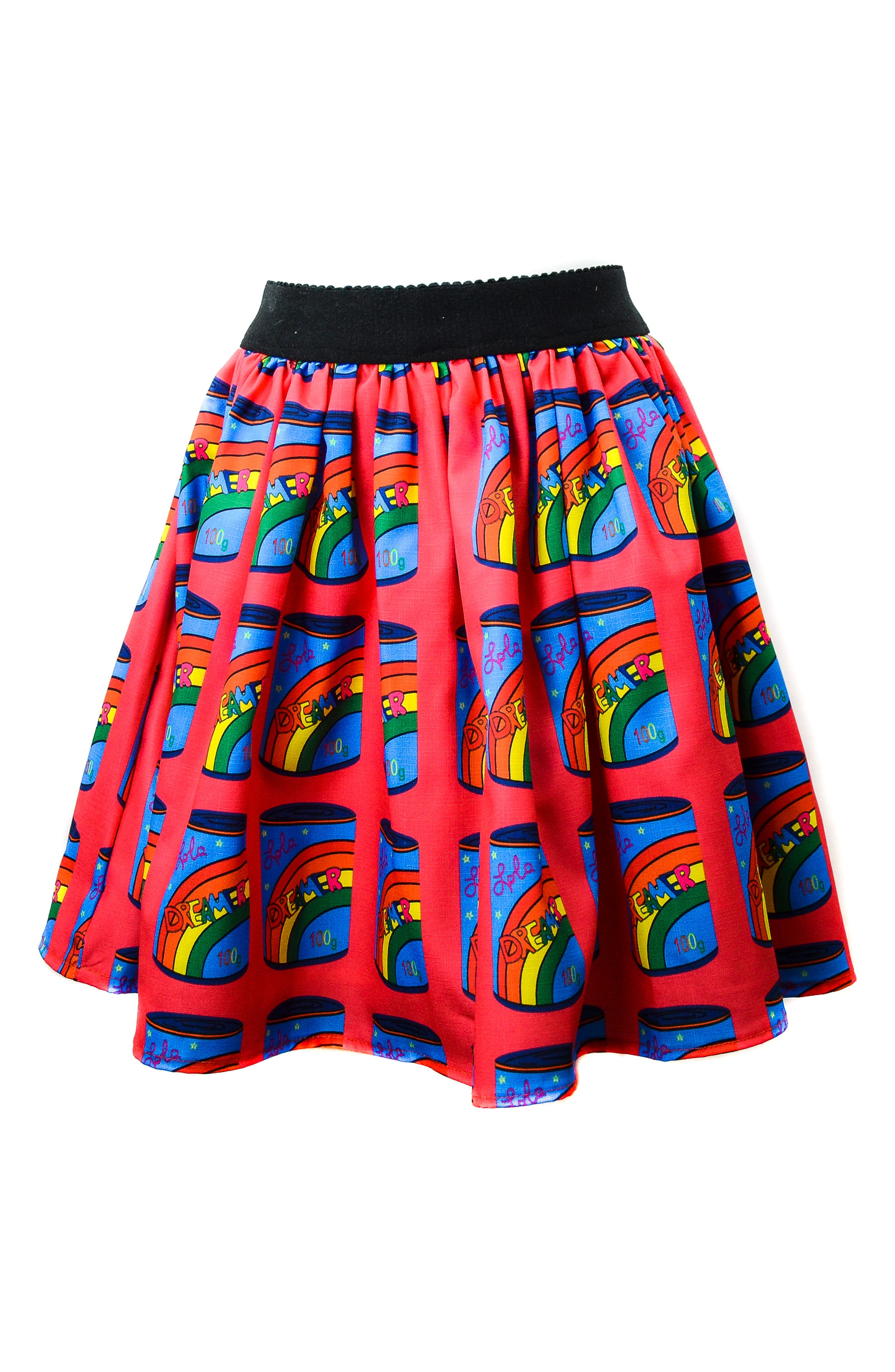 LOLA & THE BOYS Dreamers Can Tutu Skirt, Main, color, RED