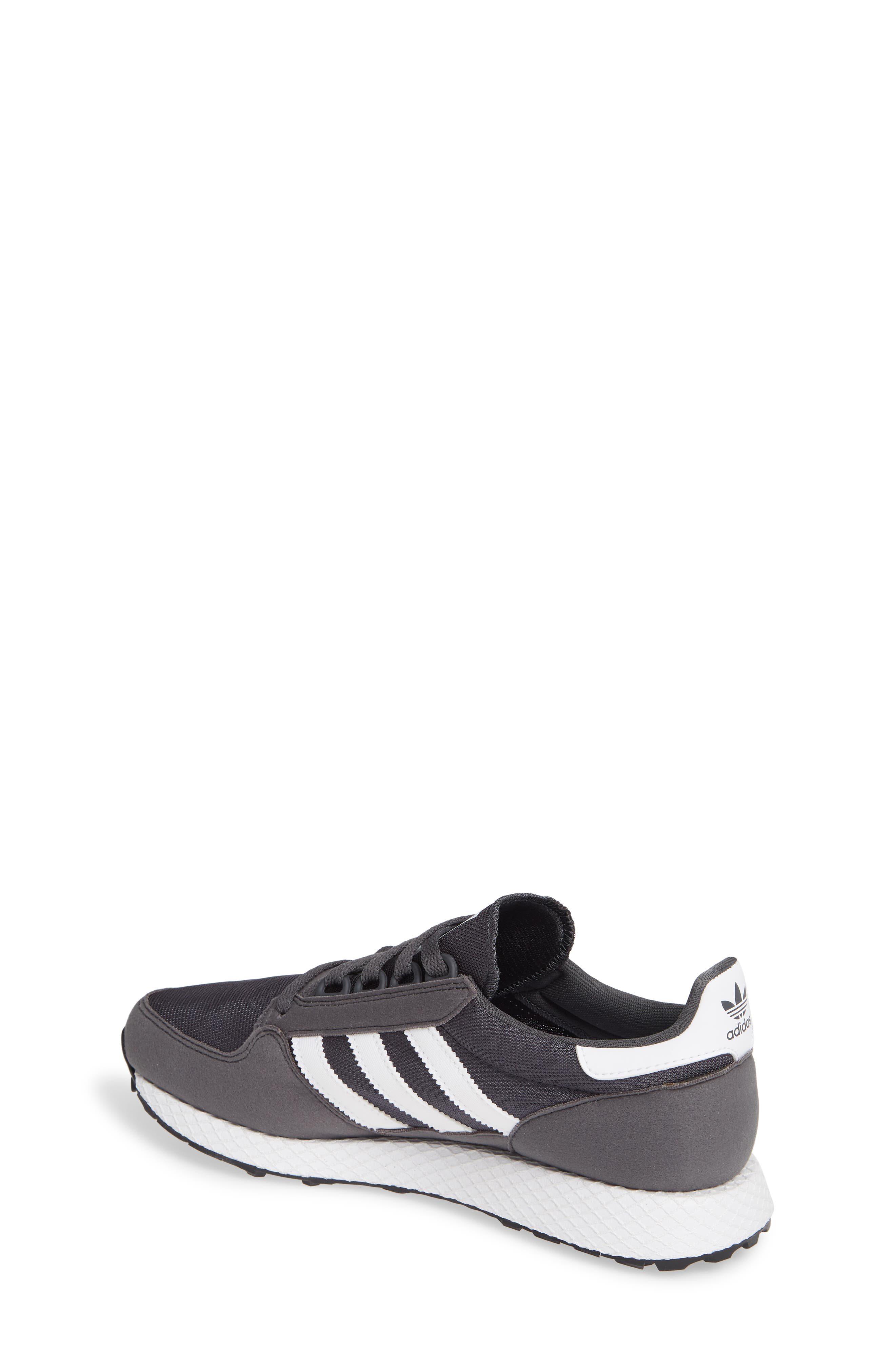 ADIDAS, Forest Grove Sneaker, Alternate thumbnail 2, color, GREY SIX/ WHITE/ GREY SIX