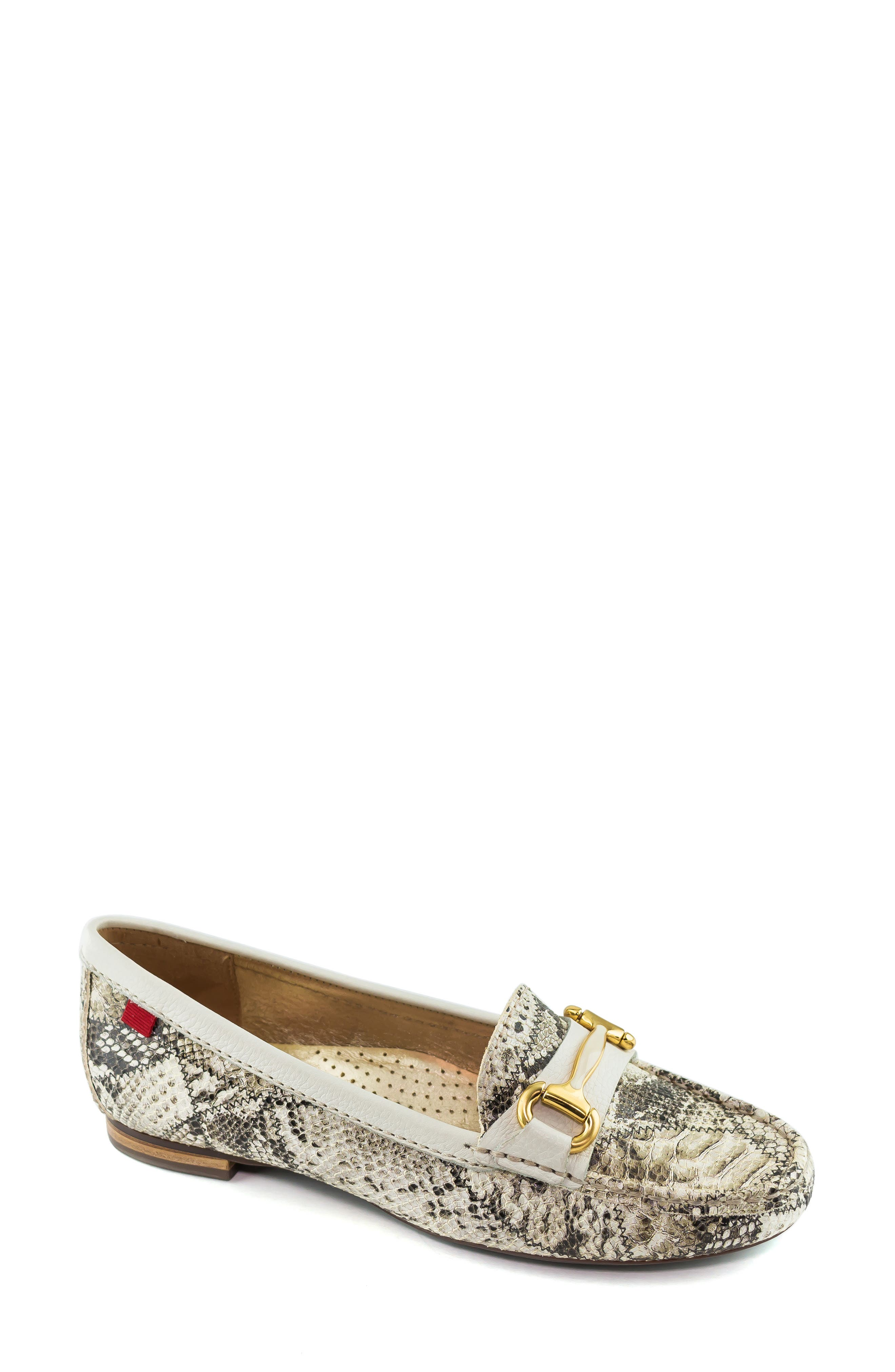 MARC JOSEPH NEW YORK Grand Street Loafer, Main, color, SNAKE PRINT LEATHER