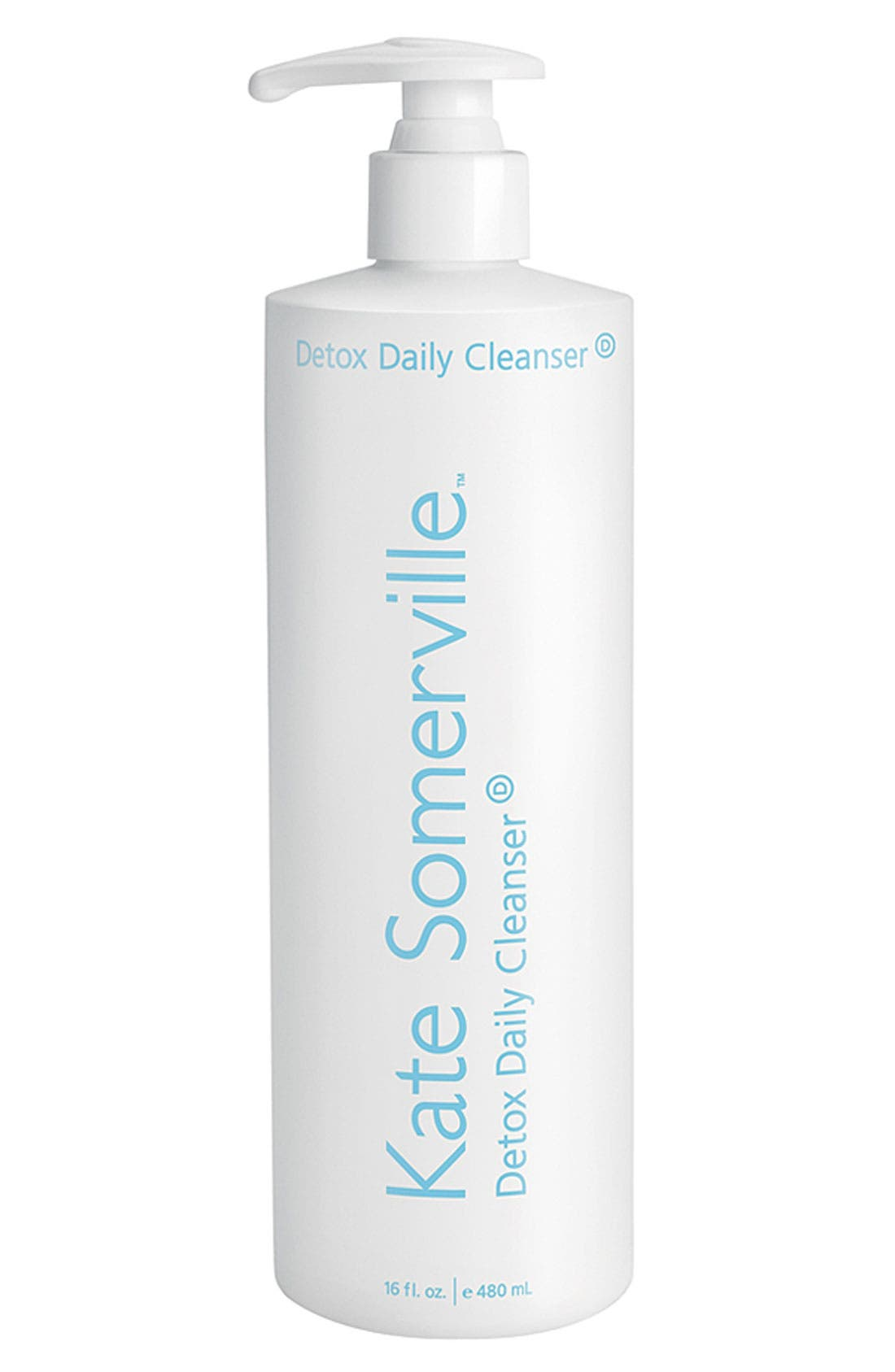KATE SOMERVILLE<SUP>®</SUP>, 'Detox' Daily Cleanser, Main thumbnail 1, color, 000