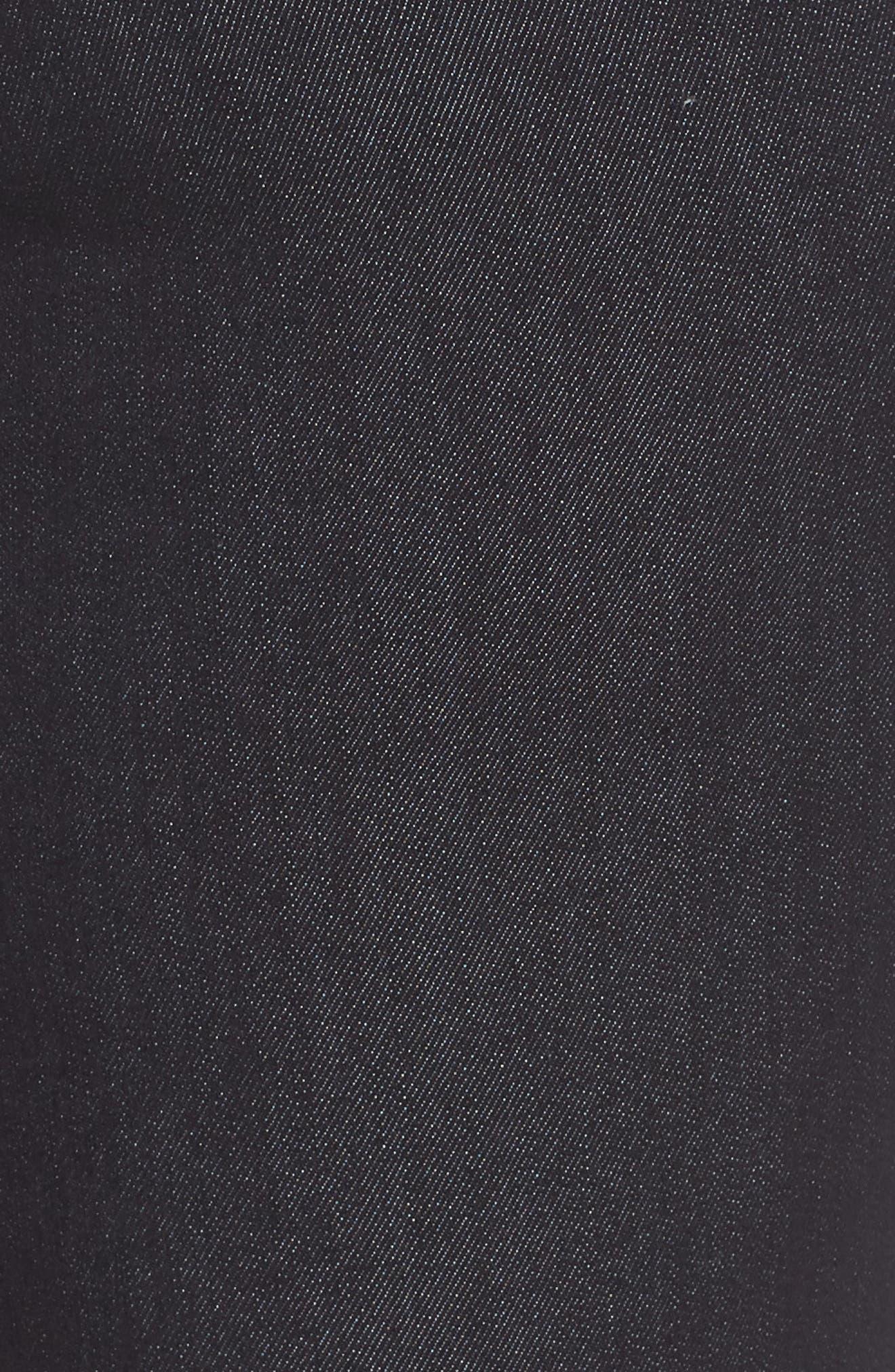 WIT & WISDOM, 30/11 Ab-solution High Waist Skinny Jeans, Alternate thumbnail 5, color, INDIGO