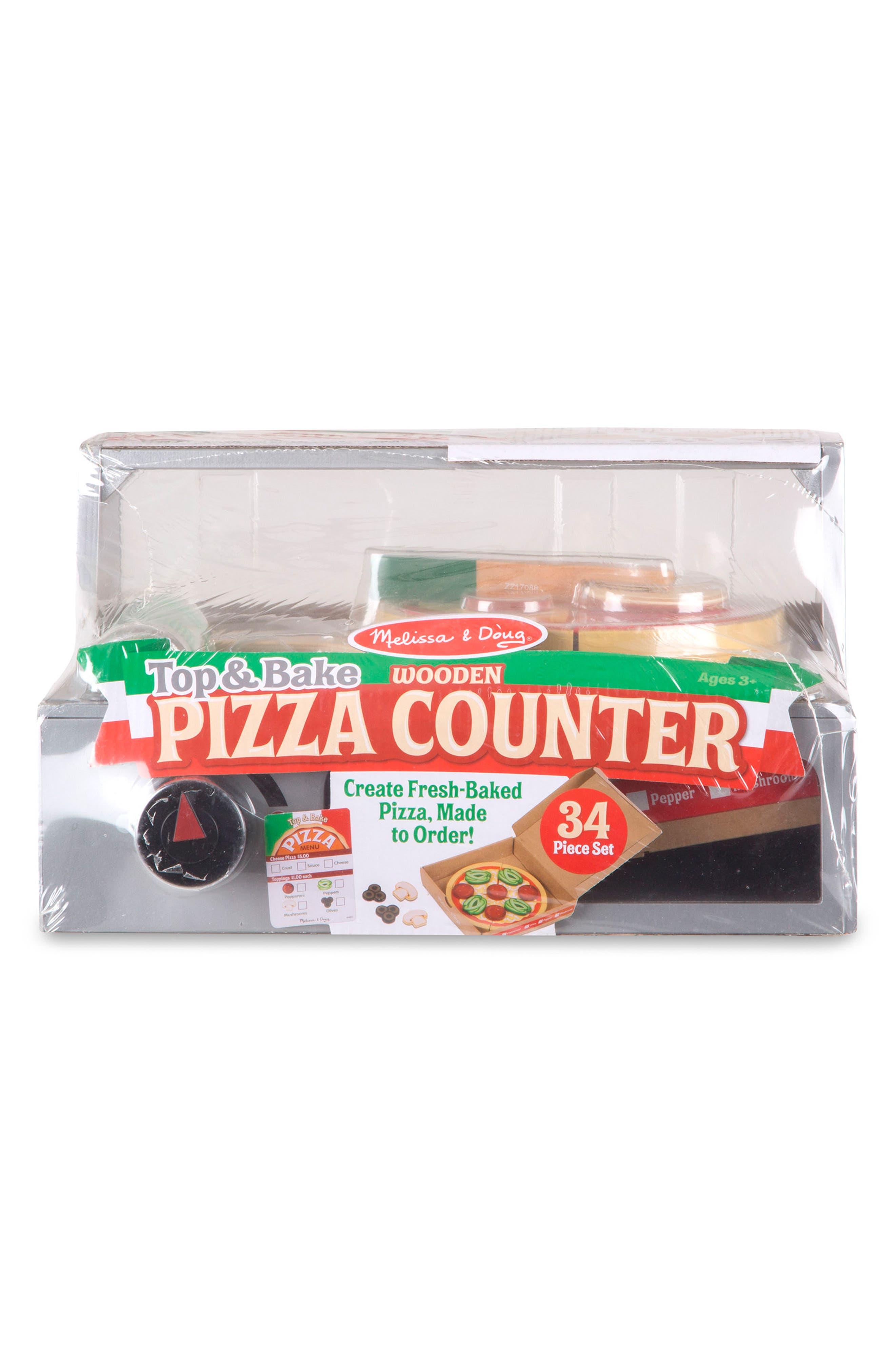MELISSA & DOUG, Pizza Counter, Alternate thumbnail 2, color, MULTI