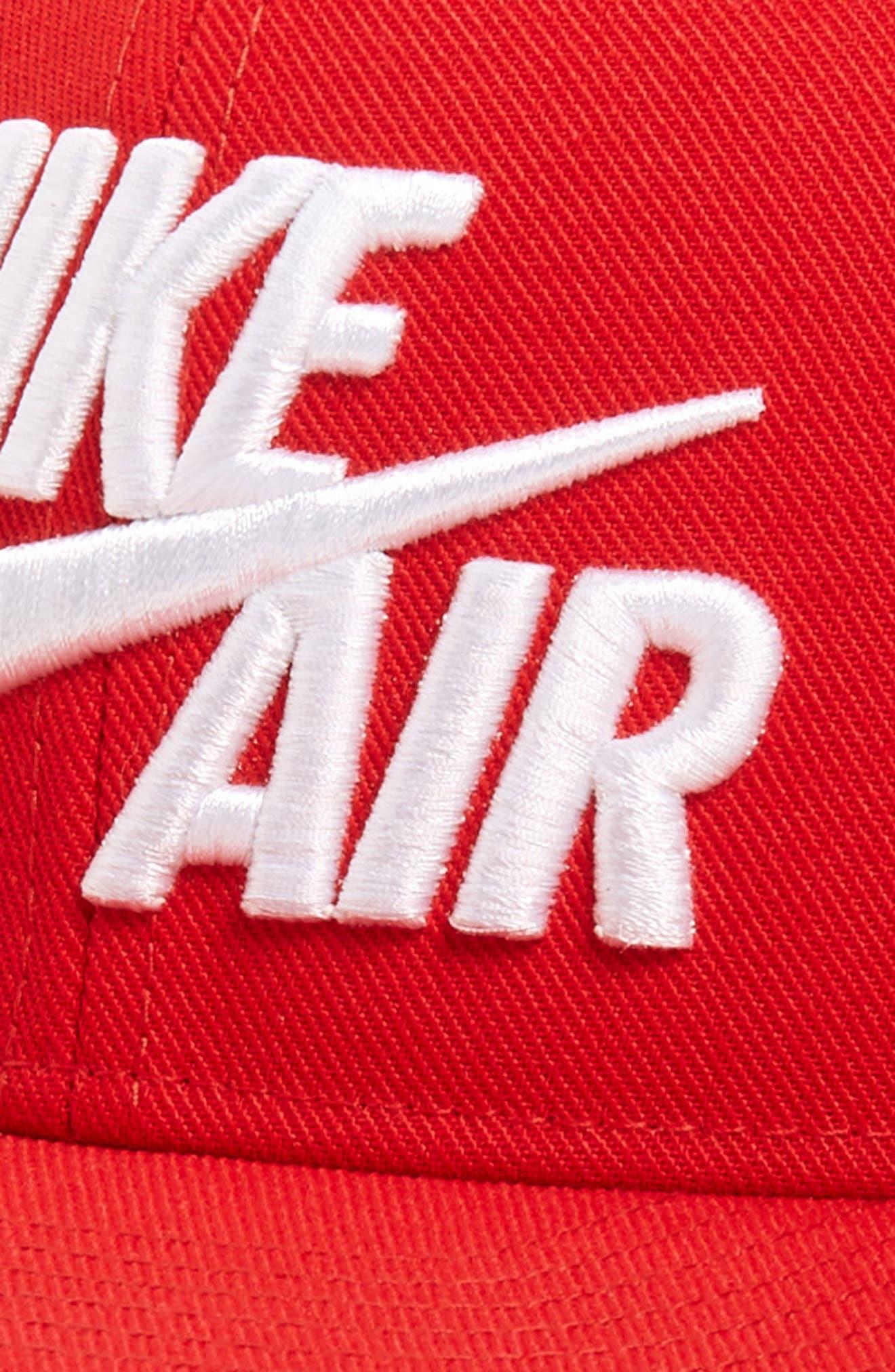 NIKE, Air Pro Snapback Baseball Cap, Alternate thumbnail 3, color, UNIVERSITY RED
