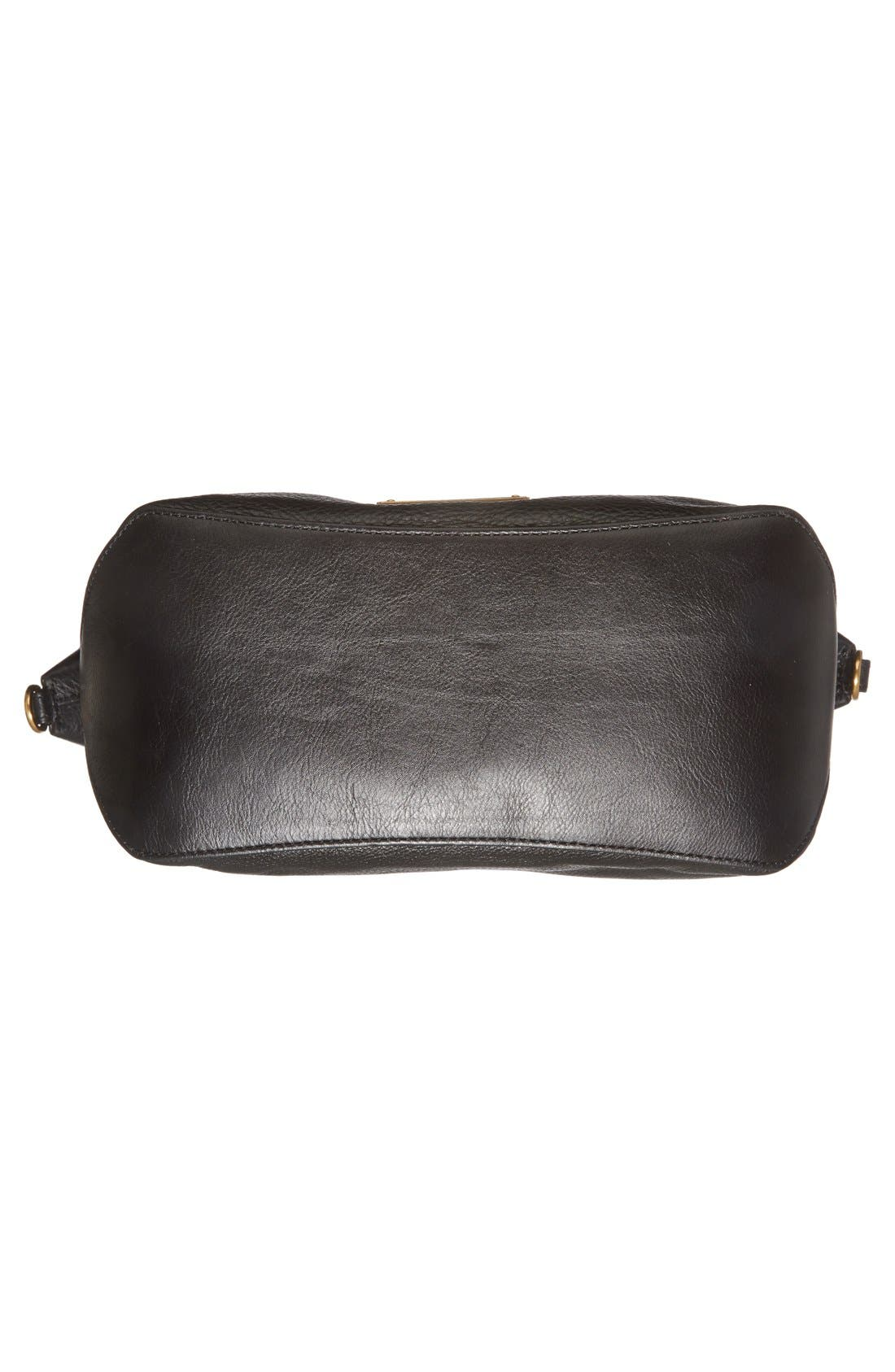 MARC JACOBS, MARC BY MARC JACOBS 'New Too Hot to Handle' Leather Satchel, Alternate thumbnail 3, color, 001