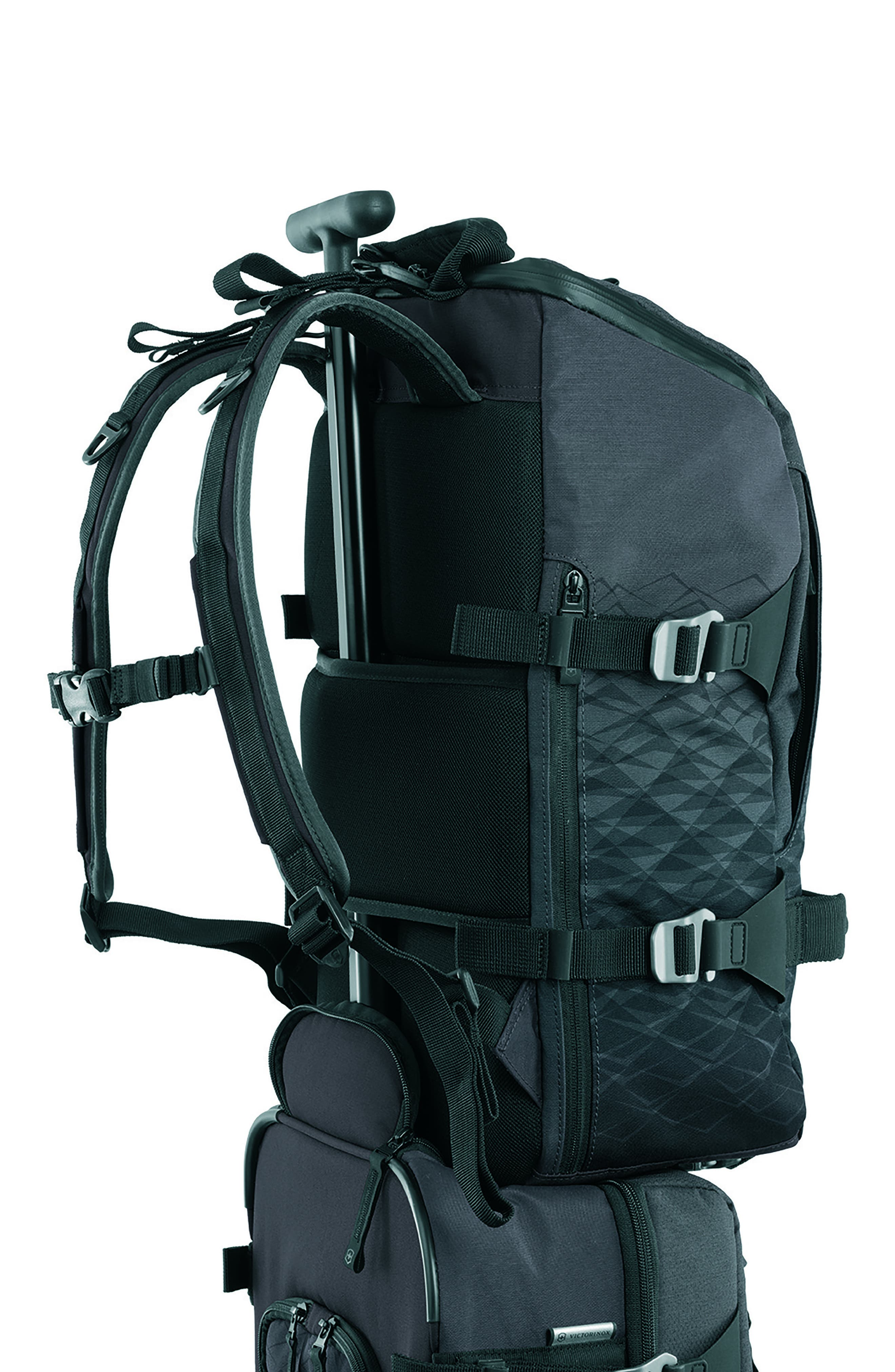 VICTORINOX SWISS ARMY<SUP>®</SUP>, VX Touring Backpack, Alternate thumbnail 2, color, ANTHRACITE