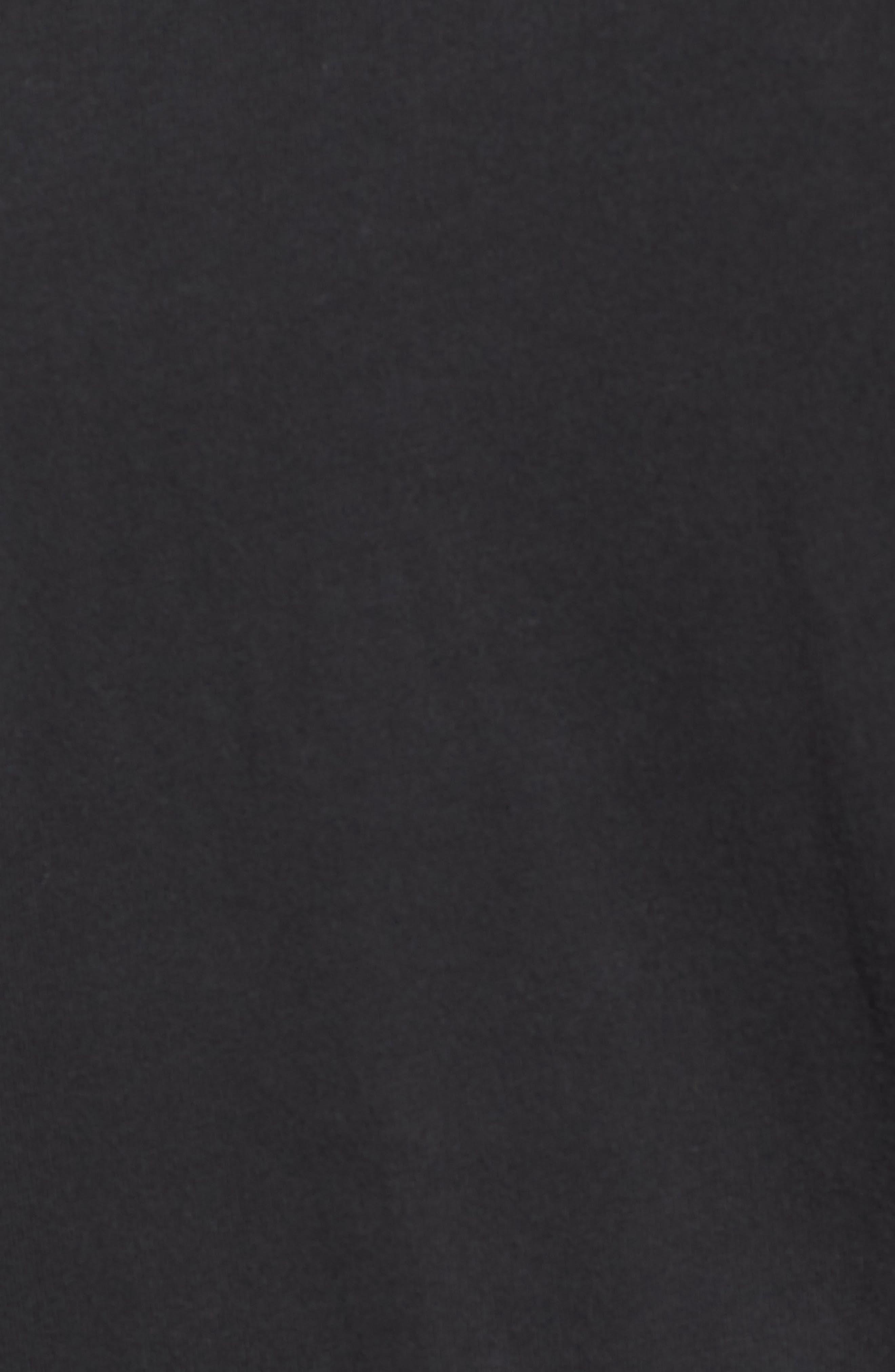BILLY REID, Pensacola Slim Fit Garment Dye Polo, Alternate thumbnail 5, color, BLACK