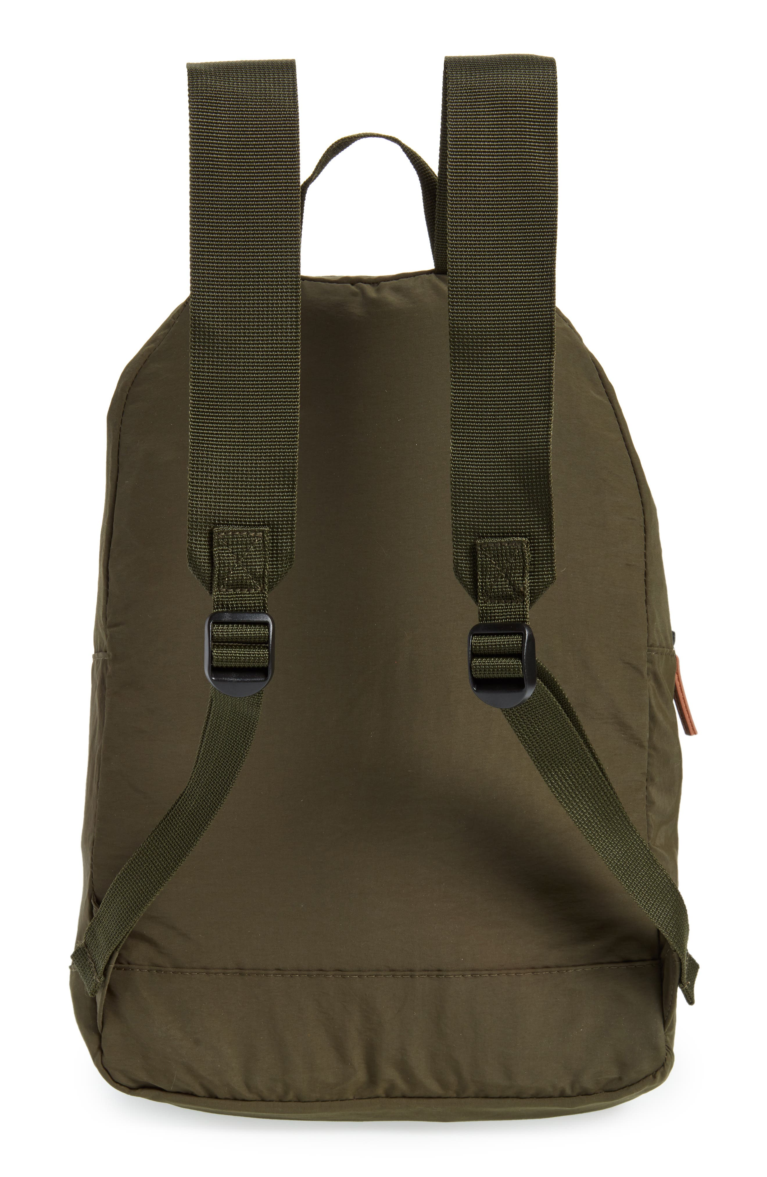 BARBOUR, Beauly Packable Backpack, Alternate thumbnail 3, color, DARK GREEN