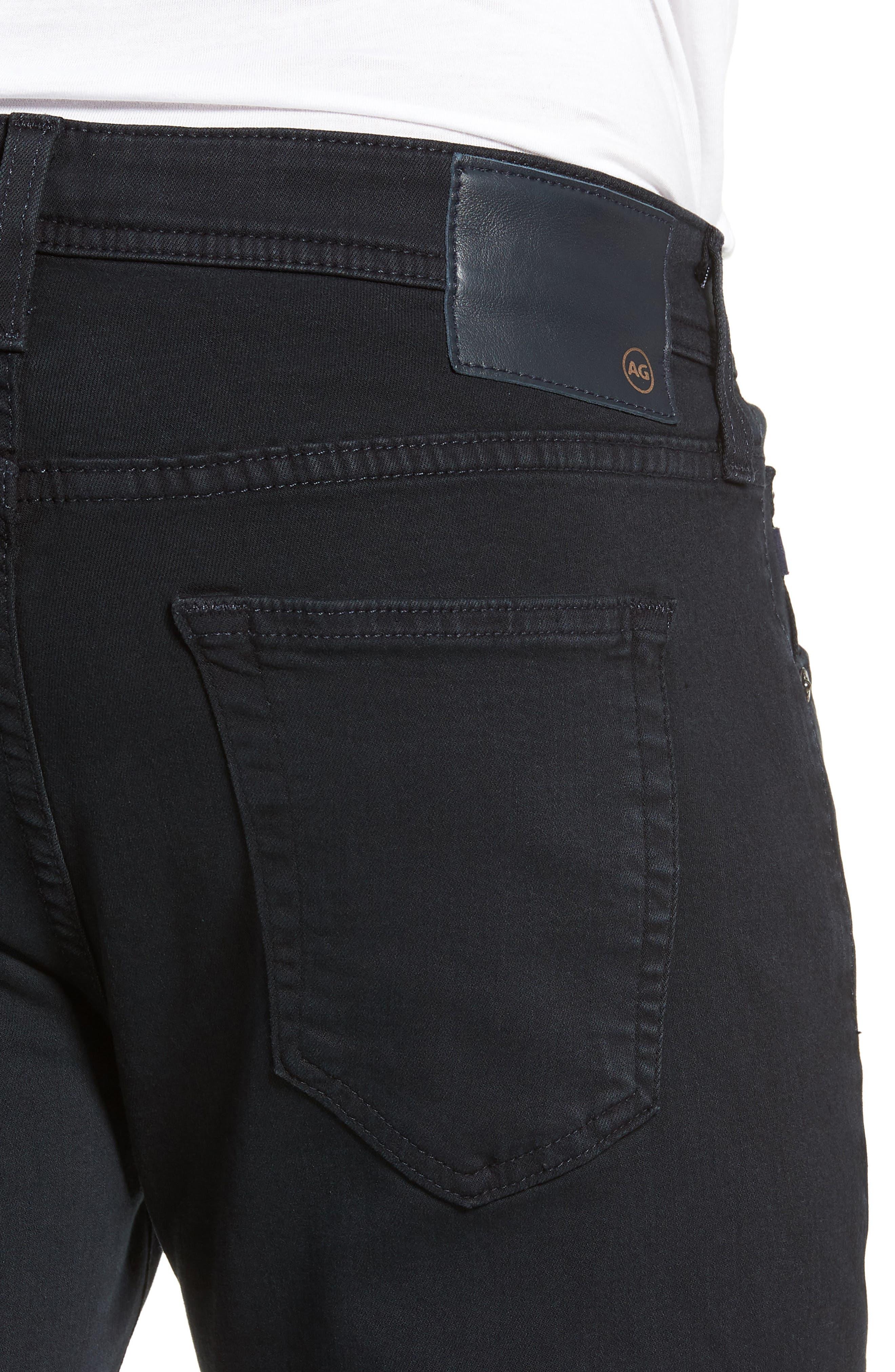 AG, Tellis Slim Fit Jeans, Alternate thumbnail 4, color, BIG SUR