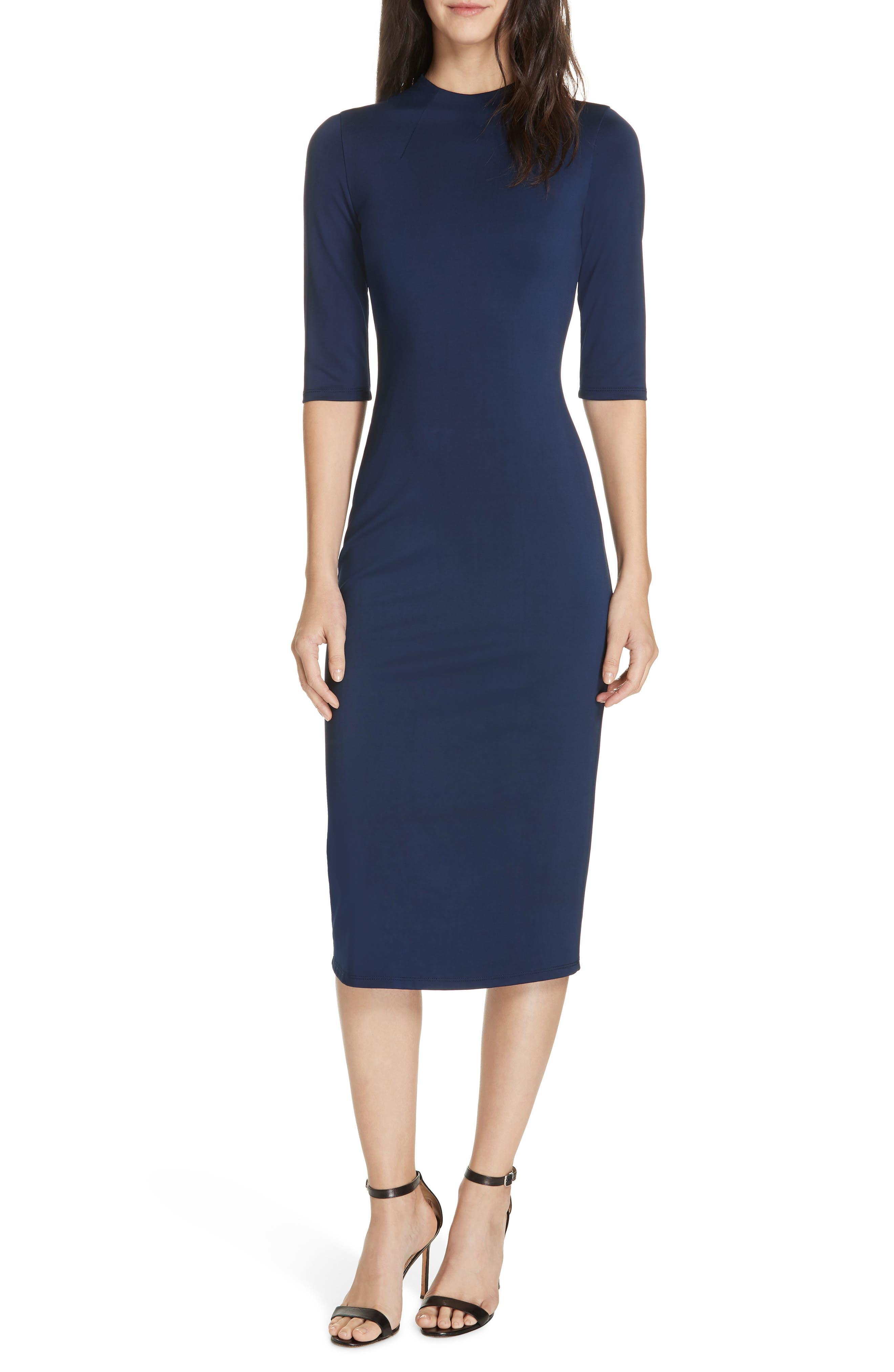 Alice + Olivia Delora Sheath Dress, Blue