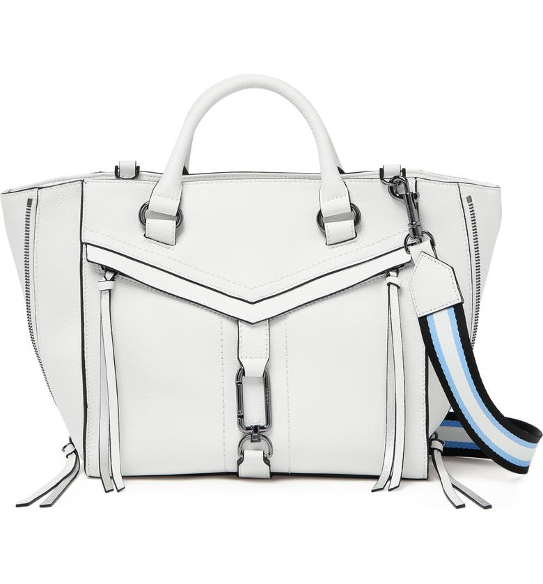 Botkier Bags TRIGGER LEATHER SATCHEL - WHITE