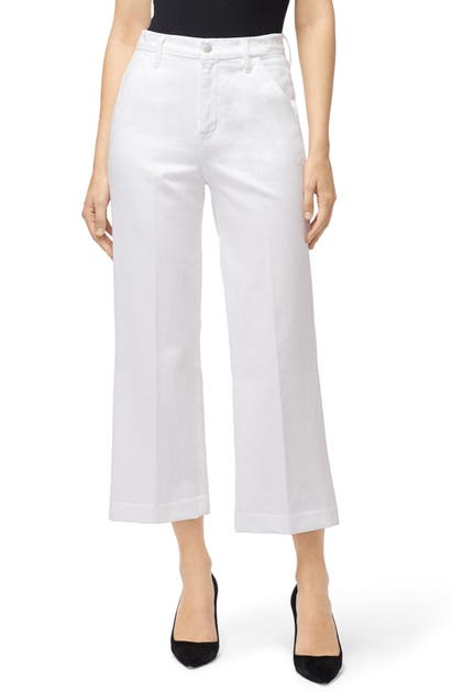 J Brand Jeans JOAN HIGH WAIST CROP WIDE LEG TROUSER JEANS