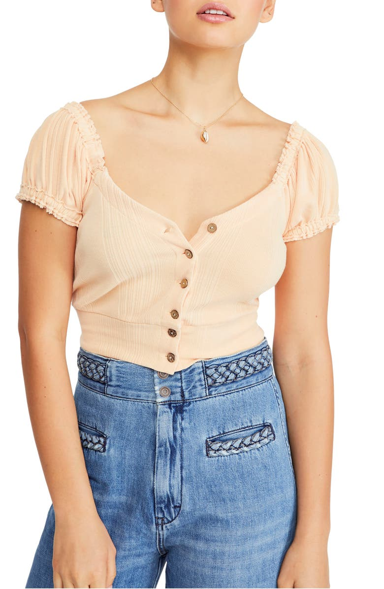 Free People Tops BRIGHTER DAYS TOP