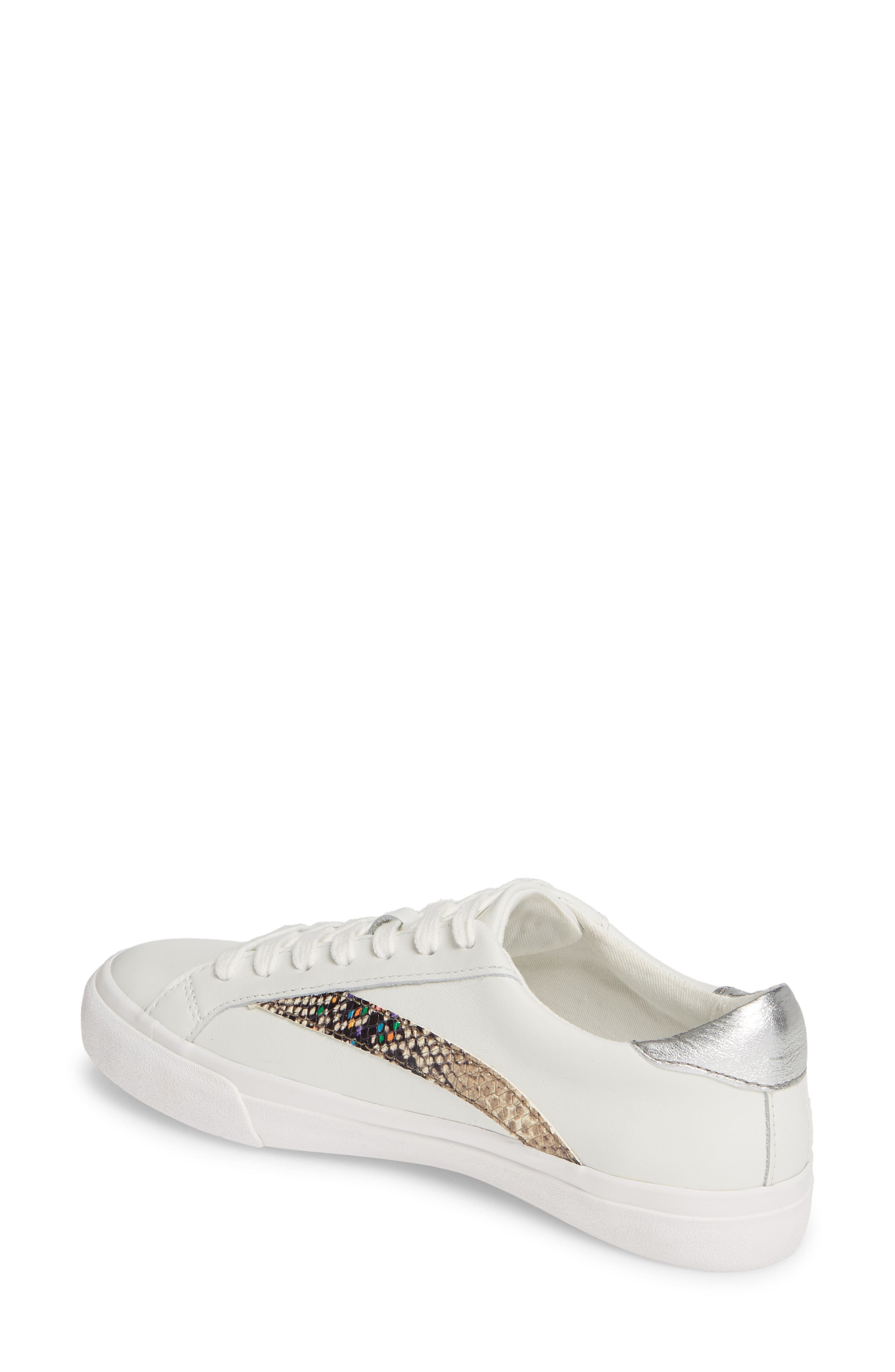 MADEWELL, Delia Sneaker, Alternate thumbnail 3, color, LIGHT UMBER MULTI
