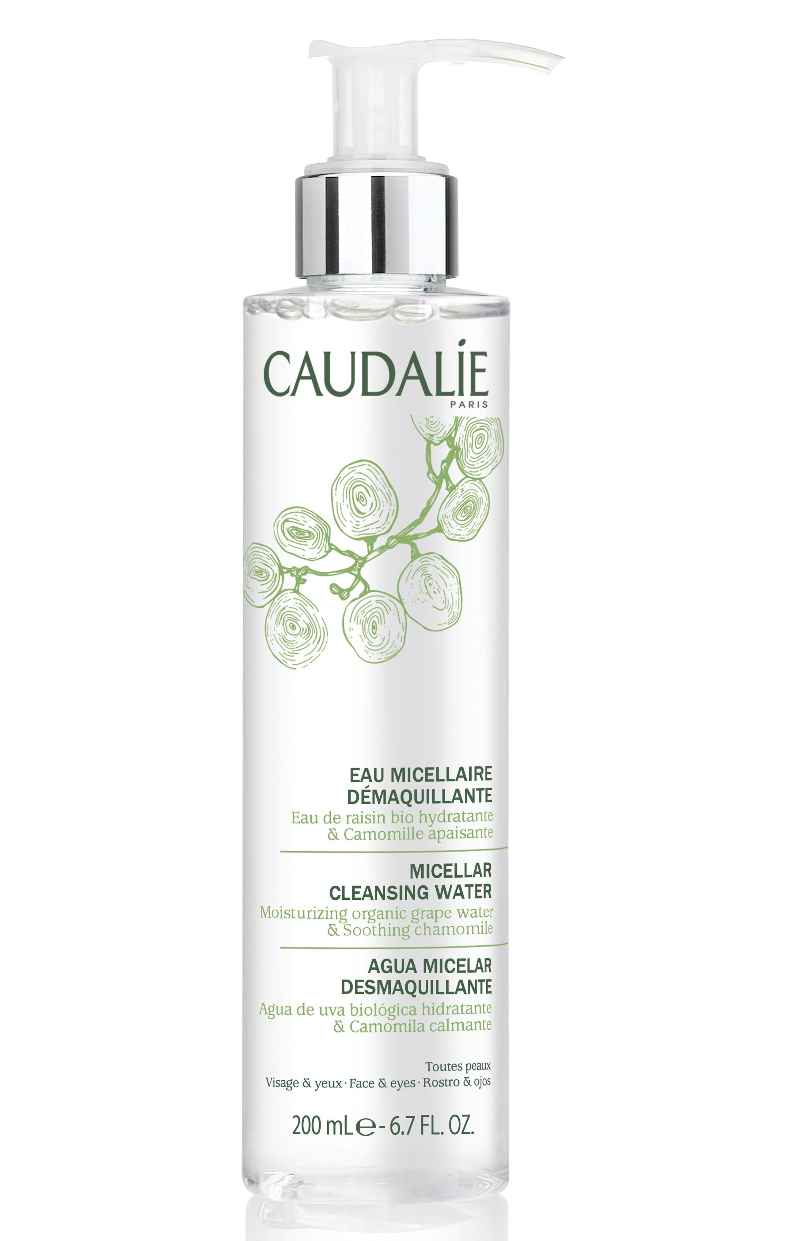 CAUDALÍE, Micellar Cleansing Water, Main thumbnail 1, color, NO COLOR
