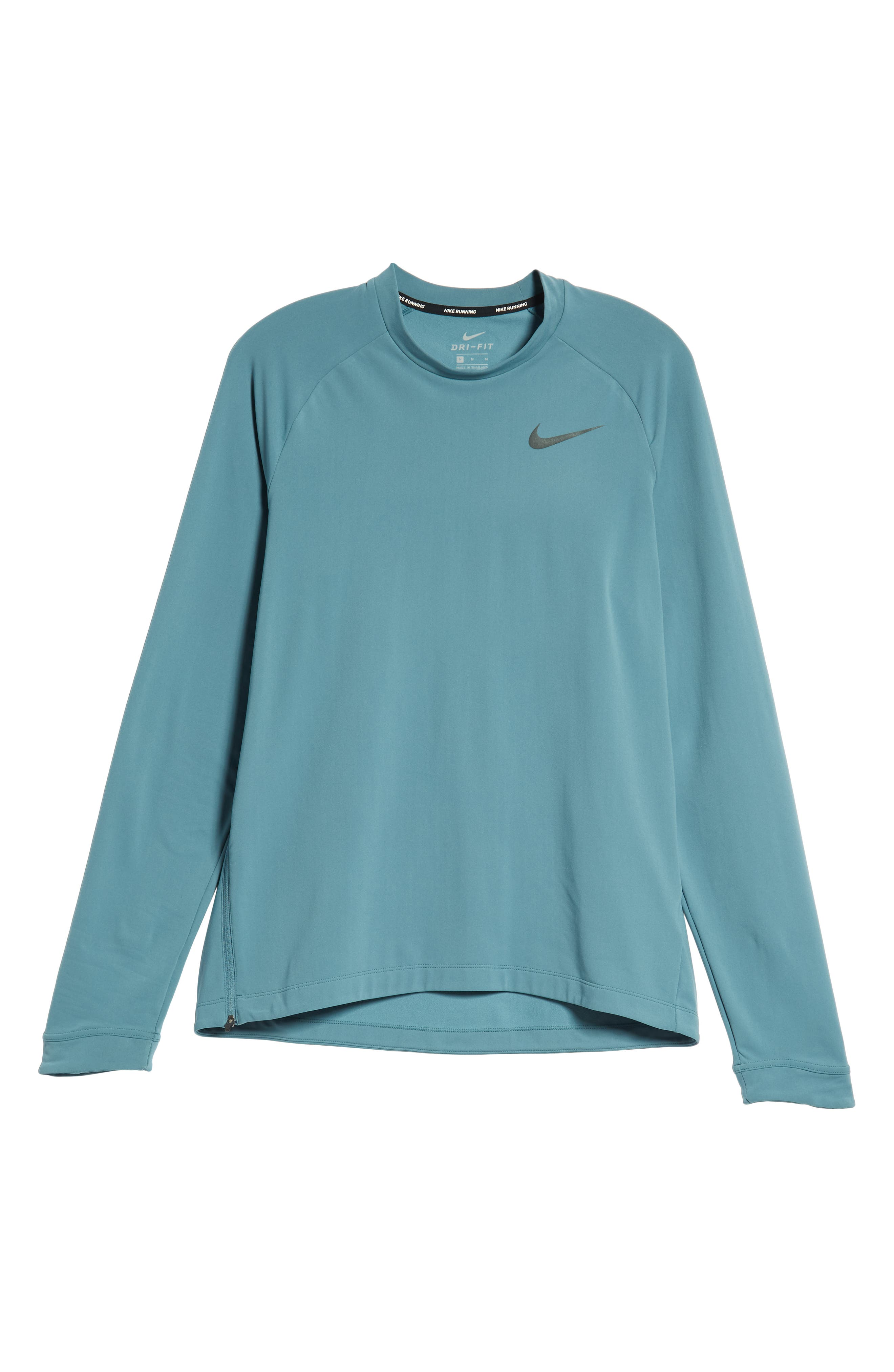 NIKE, Thermal Crewneck, Alternate thumbnail 6, color, CELESTIAL TEAL
