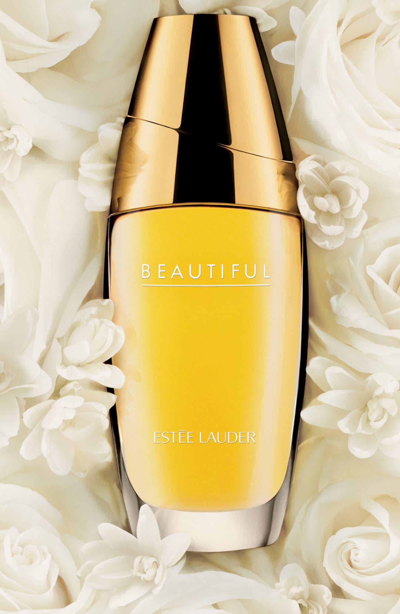 ESTÉE LAUDER, Beautiful Eau de Parfum Spray, Alternate thumbnail 2, color, NO COLOR