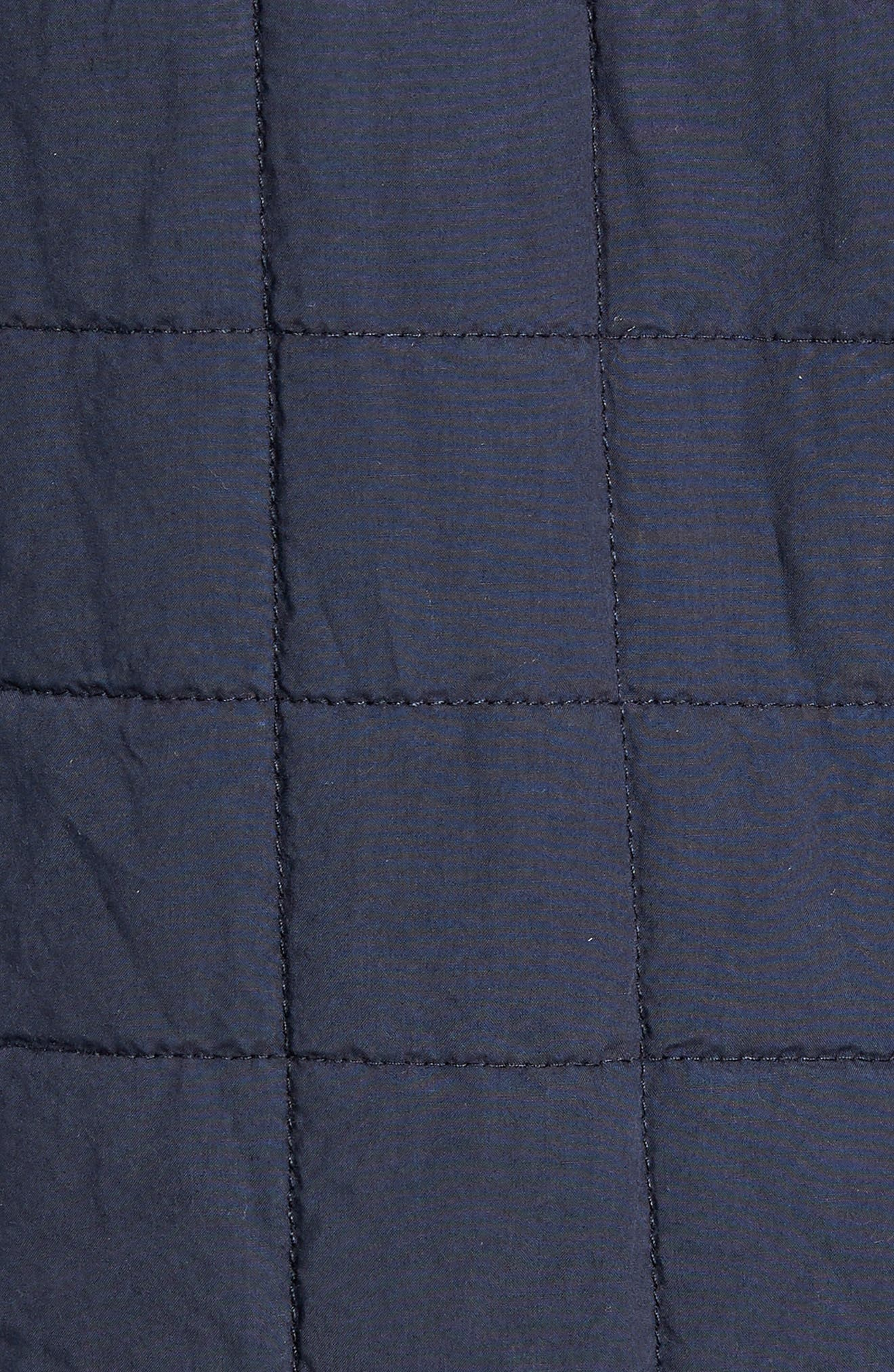 UGG<SUP>®</SUP>, Quilted Shirt Jacket, Alternate thumbnail 7, color, 400