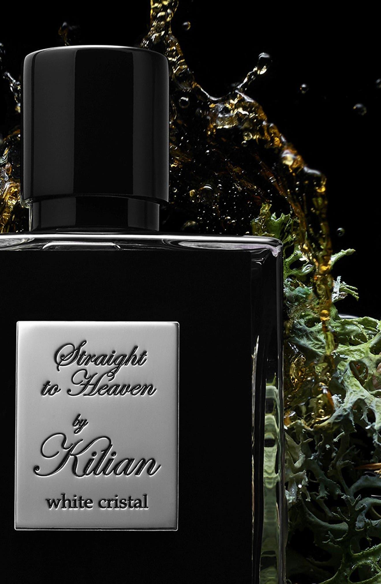 KILIAN, 'L'Oeuvre Noire - Straight to Heaven, white cristal' Refillable Fragrance Spray, Alternate thumbnail 7, color, NO COLOR