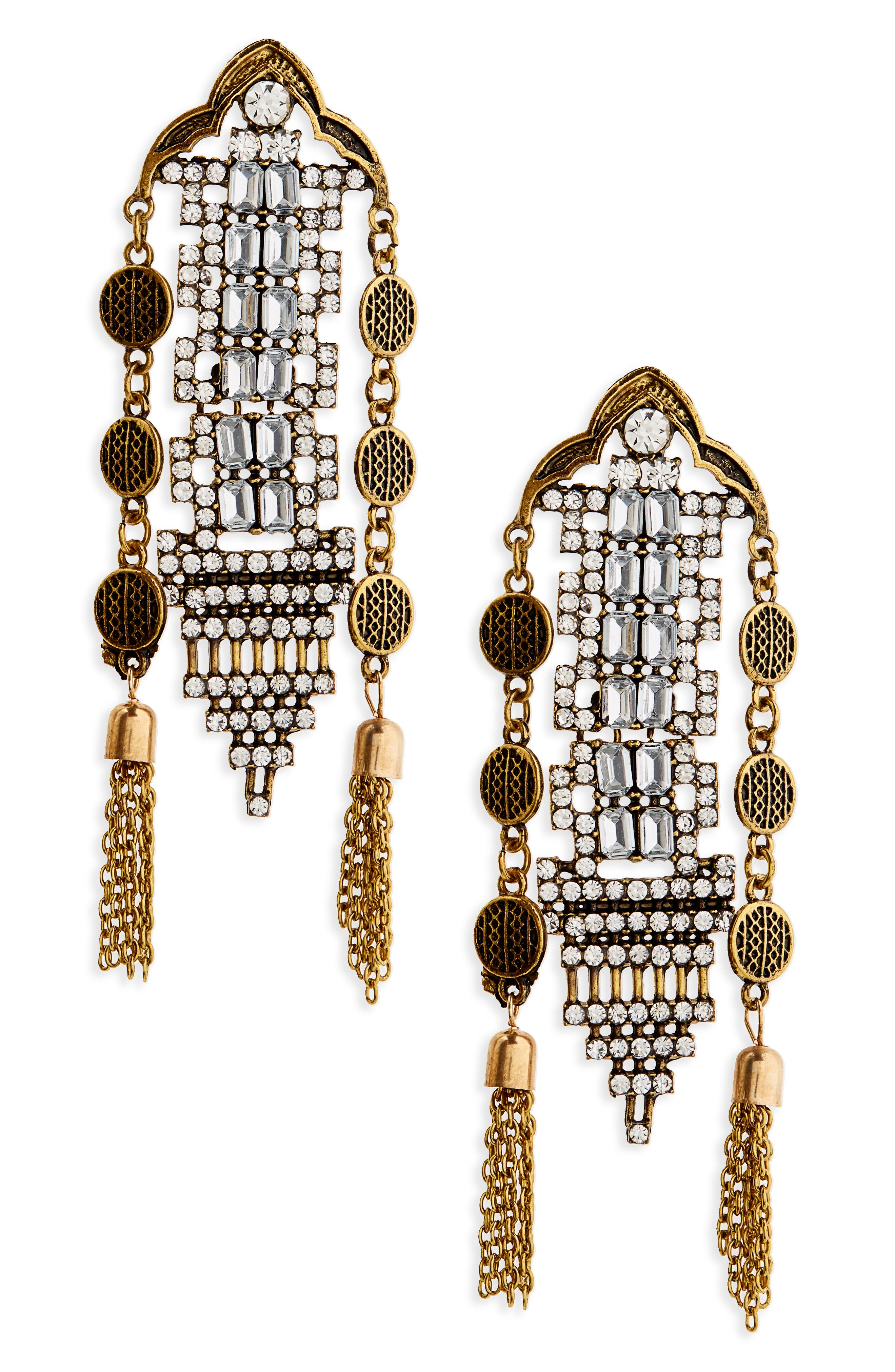 SHASHI, Stella Drop Earrings, Main thumbnail 1, color, 710