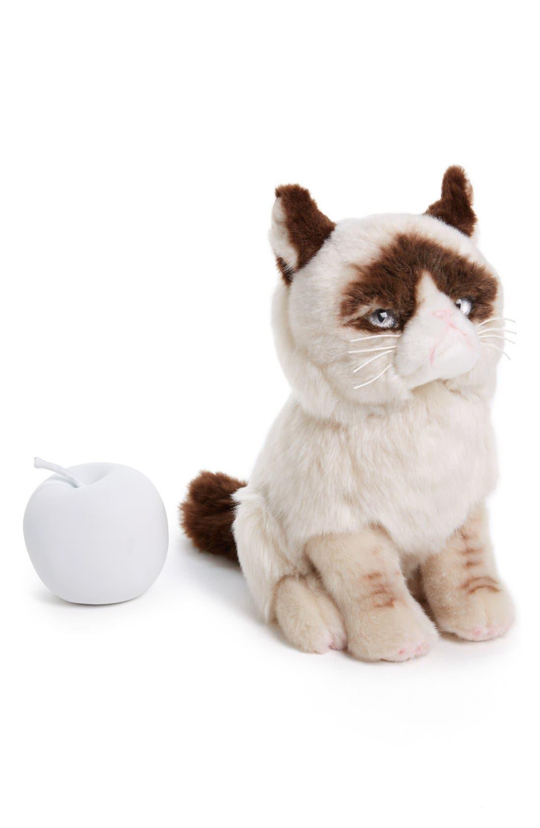 GUND, 'Grumpy Cat' Stuffed Animal, Alternate thumbnail 2, color, 000
