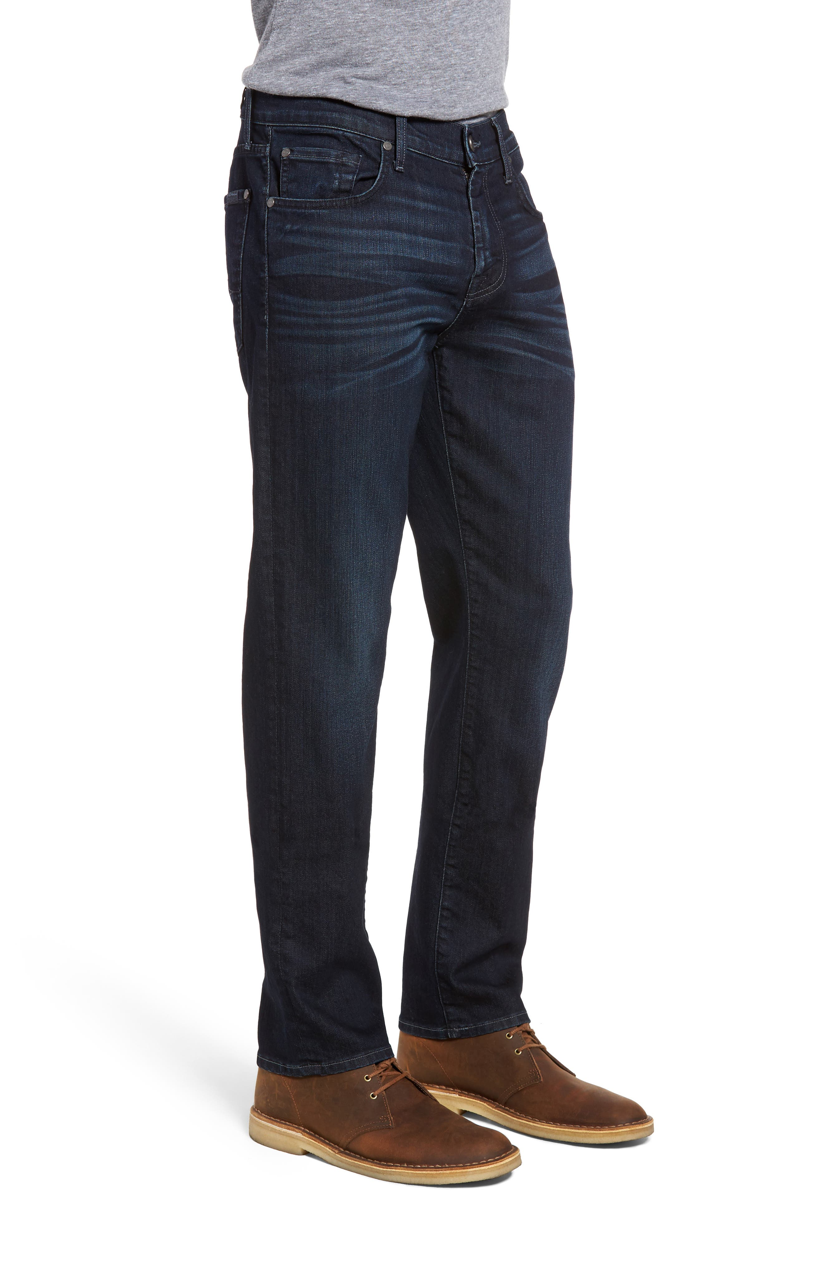 7 FOR ALL MANKIND<SUP>®</SUP>, Slimmy AirWeft Slim Fit Jeans, Alternate thumbnail 3, color, PERENNIAL