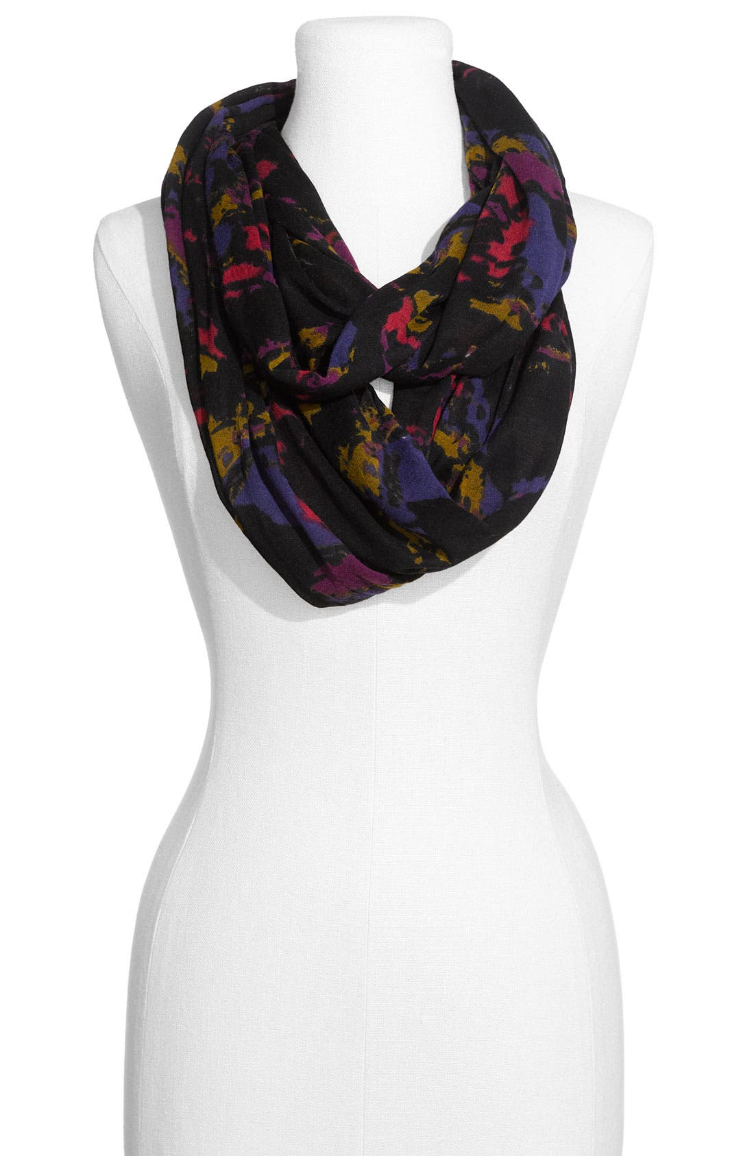COLLECTION XIIX Print Circle Scarf, Main, color, 001
