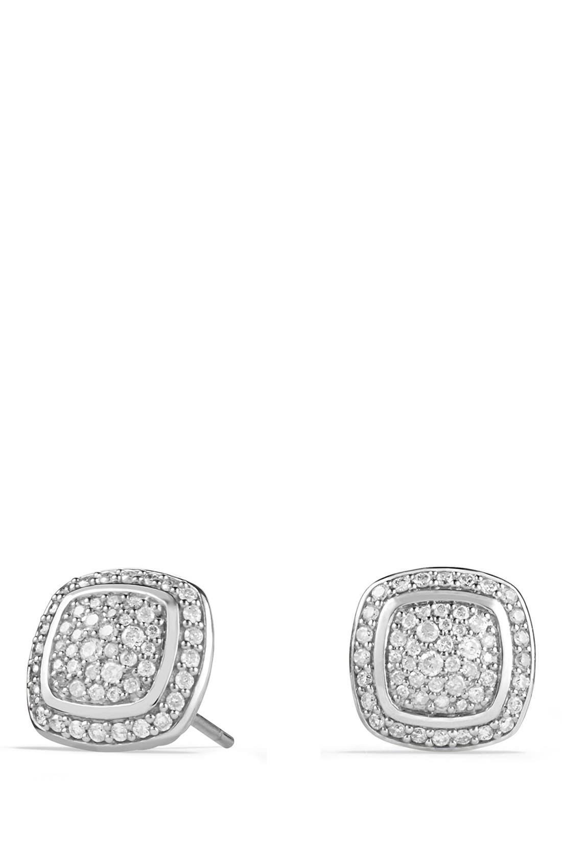 DAVID YURMAN, 'Albion' Earrings with Diamonds, Main thumbnail 1, color, DIAMOND