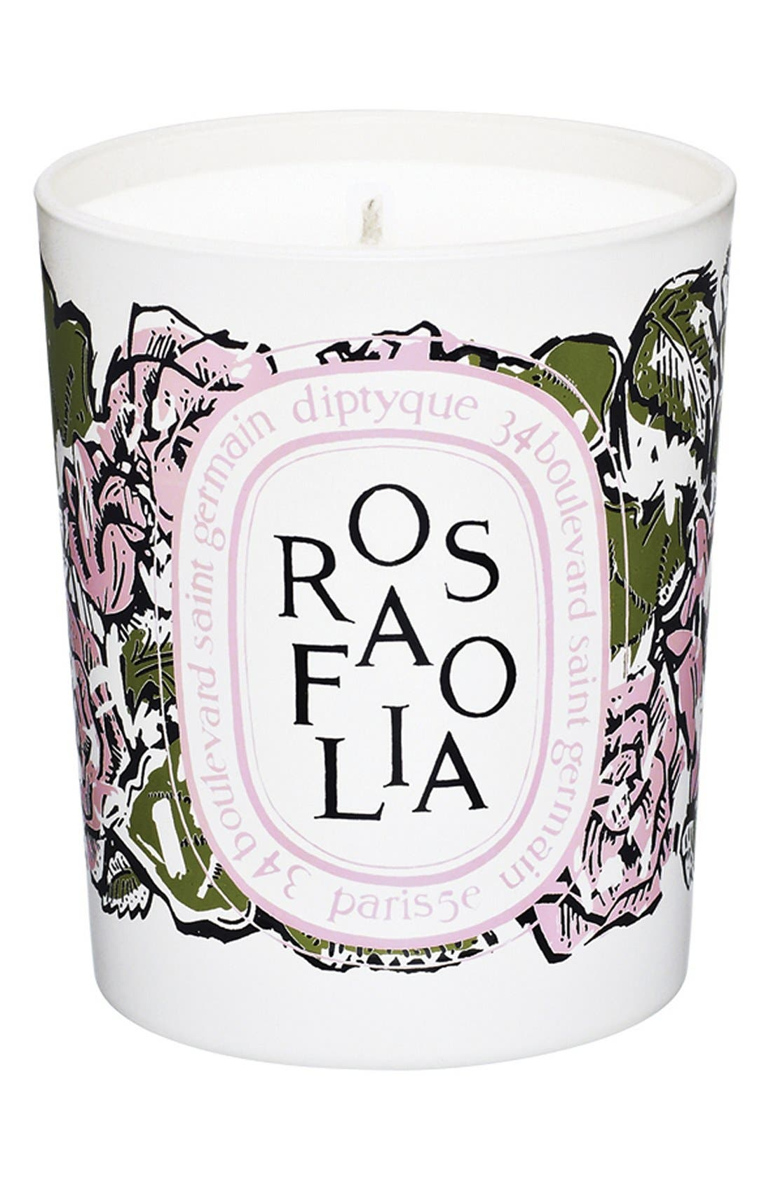 DIPTYQUE 'Rosafolia' Candle, Main, color, 000