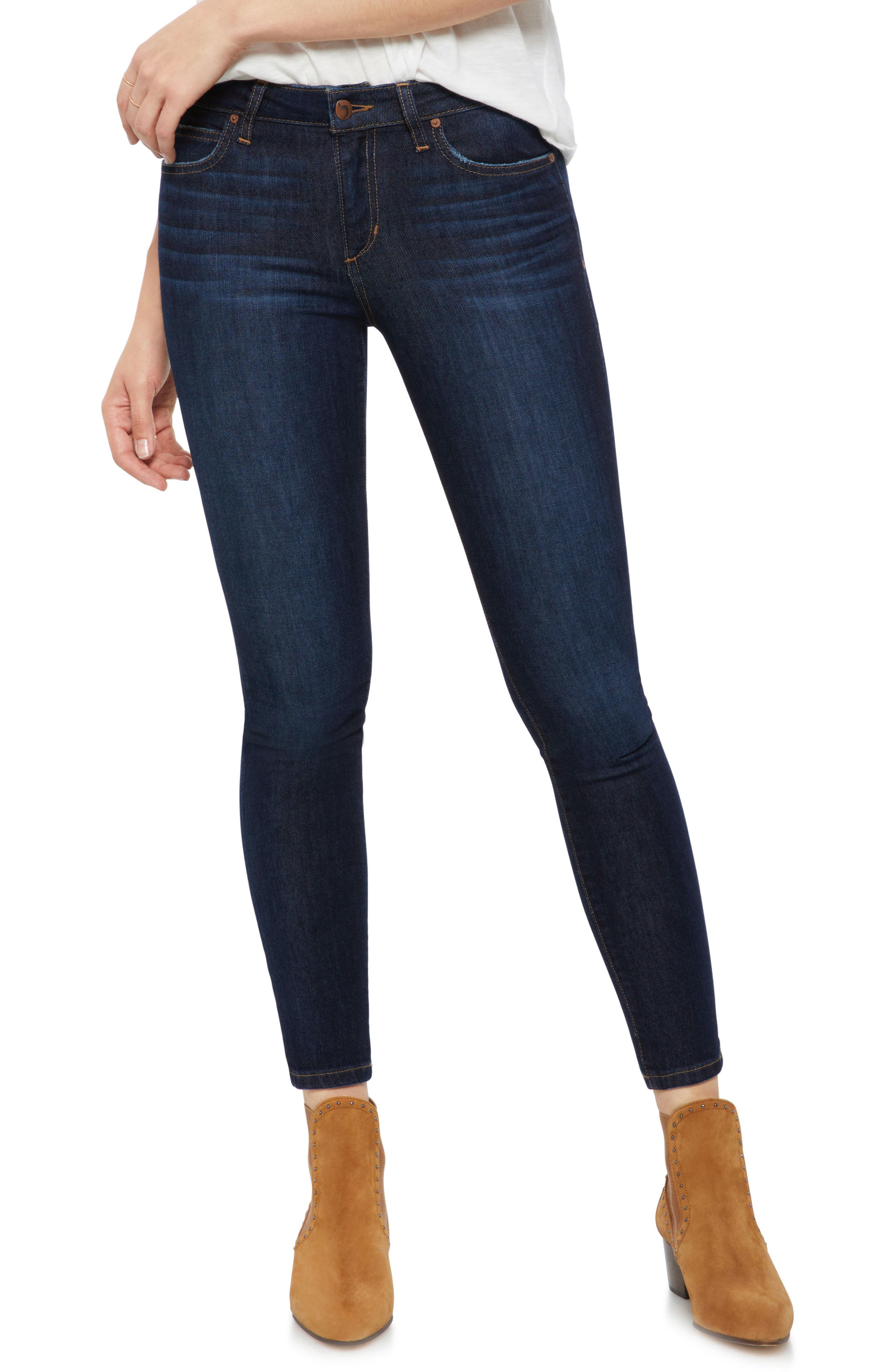 JOE'S, Icon Ankle Skinny Jeans, Main thumbnail 1, color, GIANNA