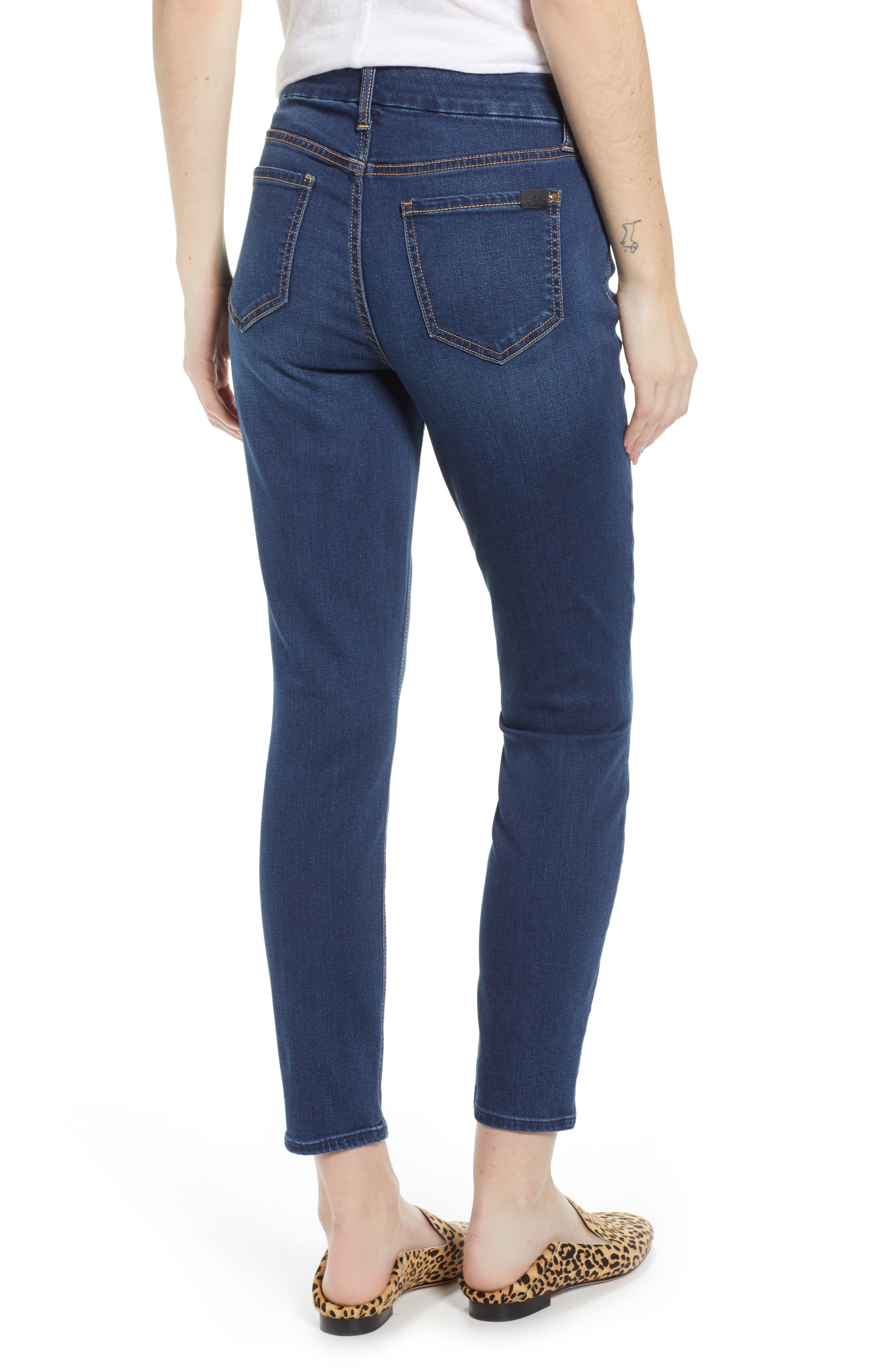 JEN7 BY 7 FOR ALL MANKIND, Ankle Skinny Jeans, Alternate thumbnail 2, color, 405