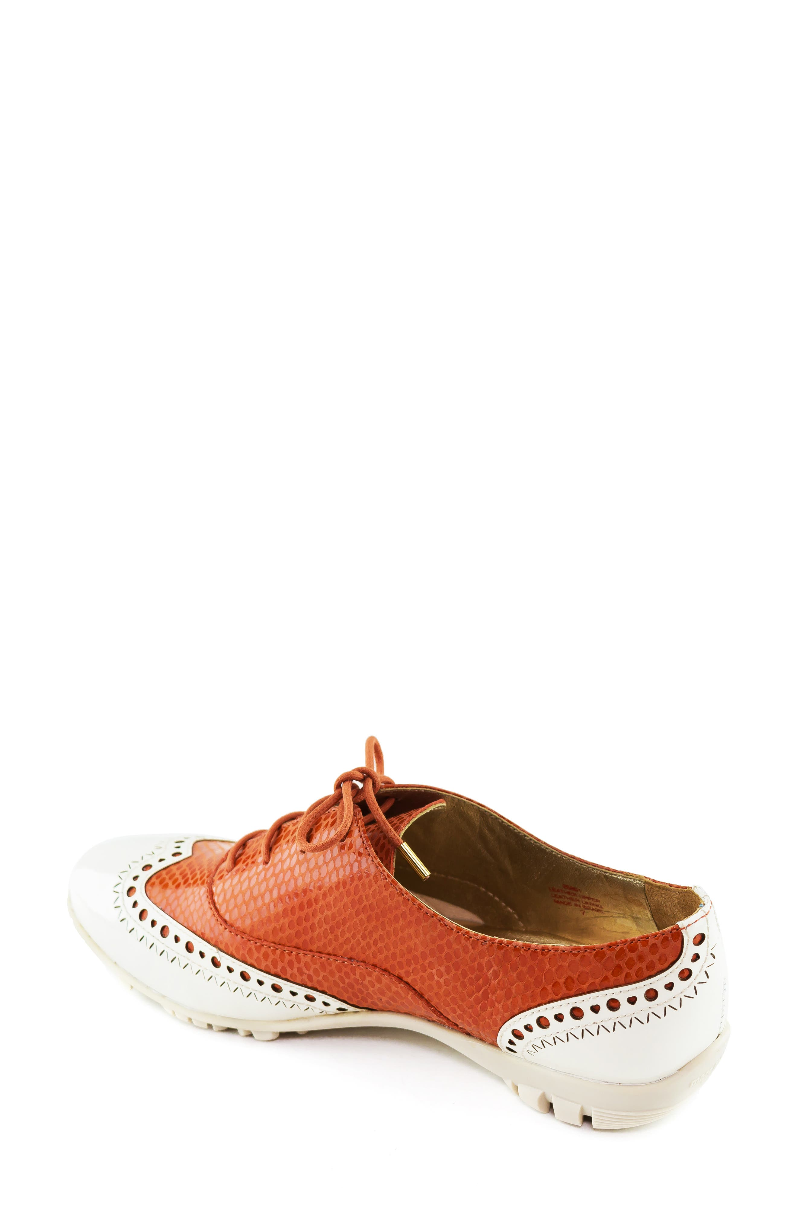 MARC JOSEPH NEW YORK, NYC Golf Loafer, Alternate thumbnail 2, color, CORAL SNAKE PRINT LEATHER
