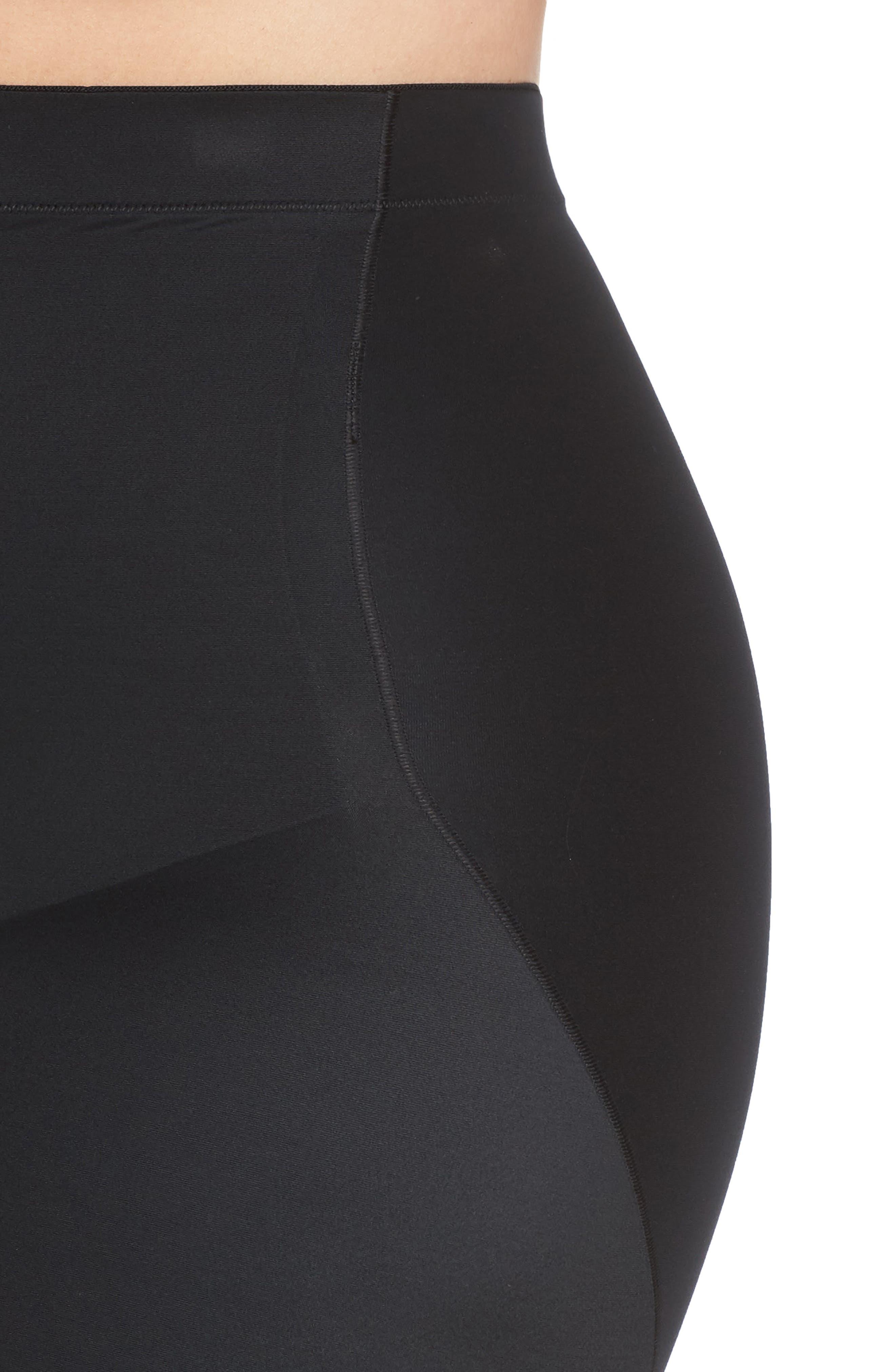 SPANX<SUP>®</SUP>, SmartGrip<sup>™</sup> Half Slip, Alternate thumbnail 4, color, VERY BLACK