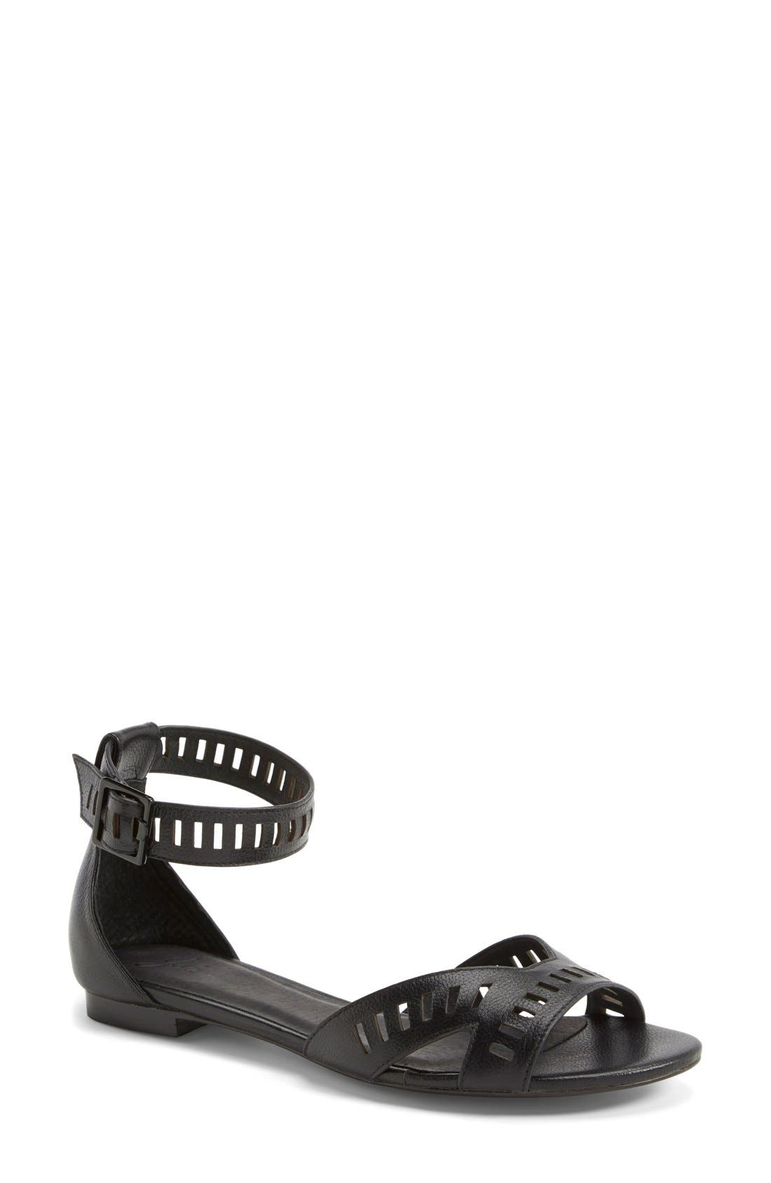 JOIE 'Luca' Leather Sandal, Main, color, 001
