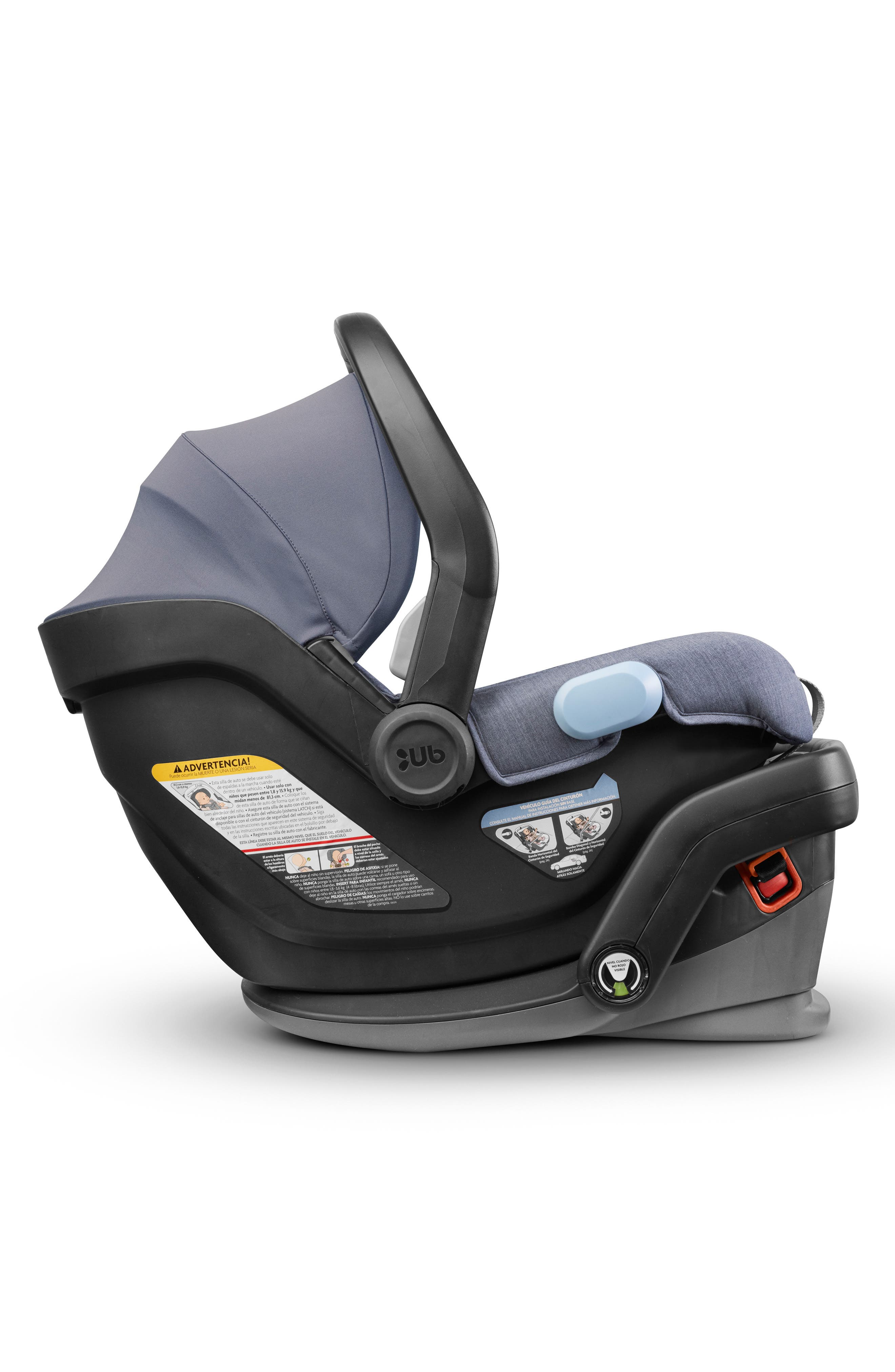 UPPABABY, MESA Henry Special Edition Car Seat, Alternate thumbnail 4, color, BLUE MARL