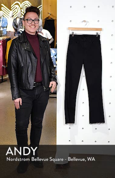 The Hustler High Waist Ankle Fray Jeans, sales video thumbnail