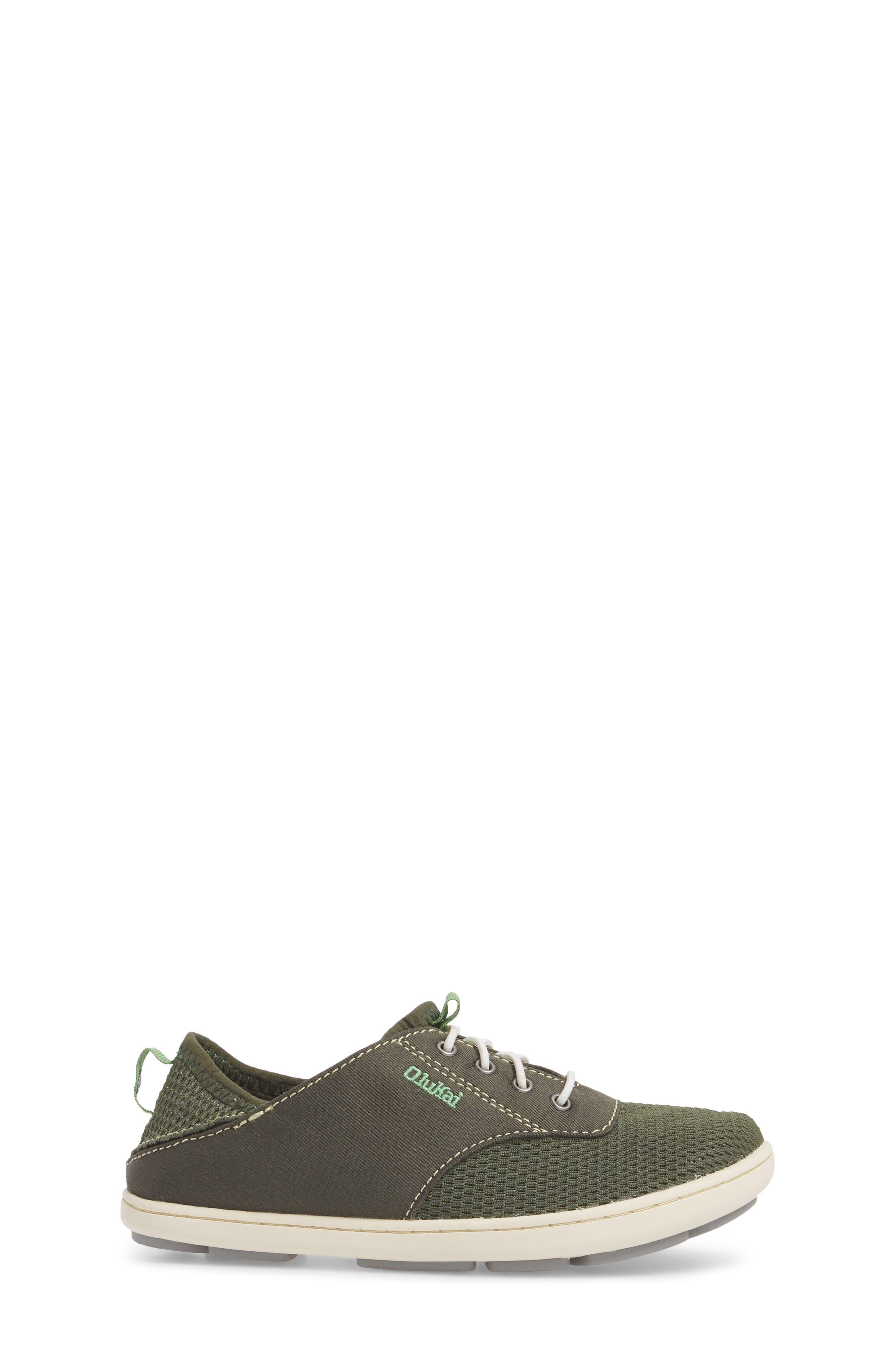 OLUKAI, Nohea Moku Water Resistant Shoe, Alternate thumbnail 2, color, SEA GRASS/ SEA GRASS